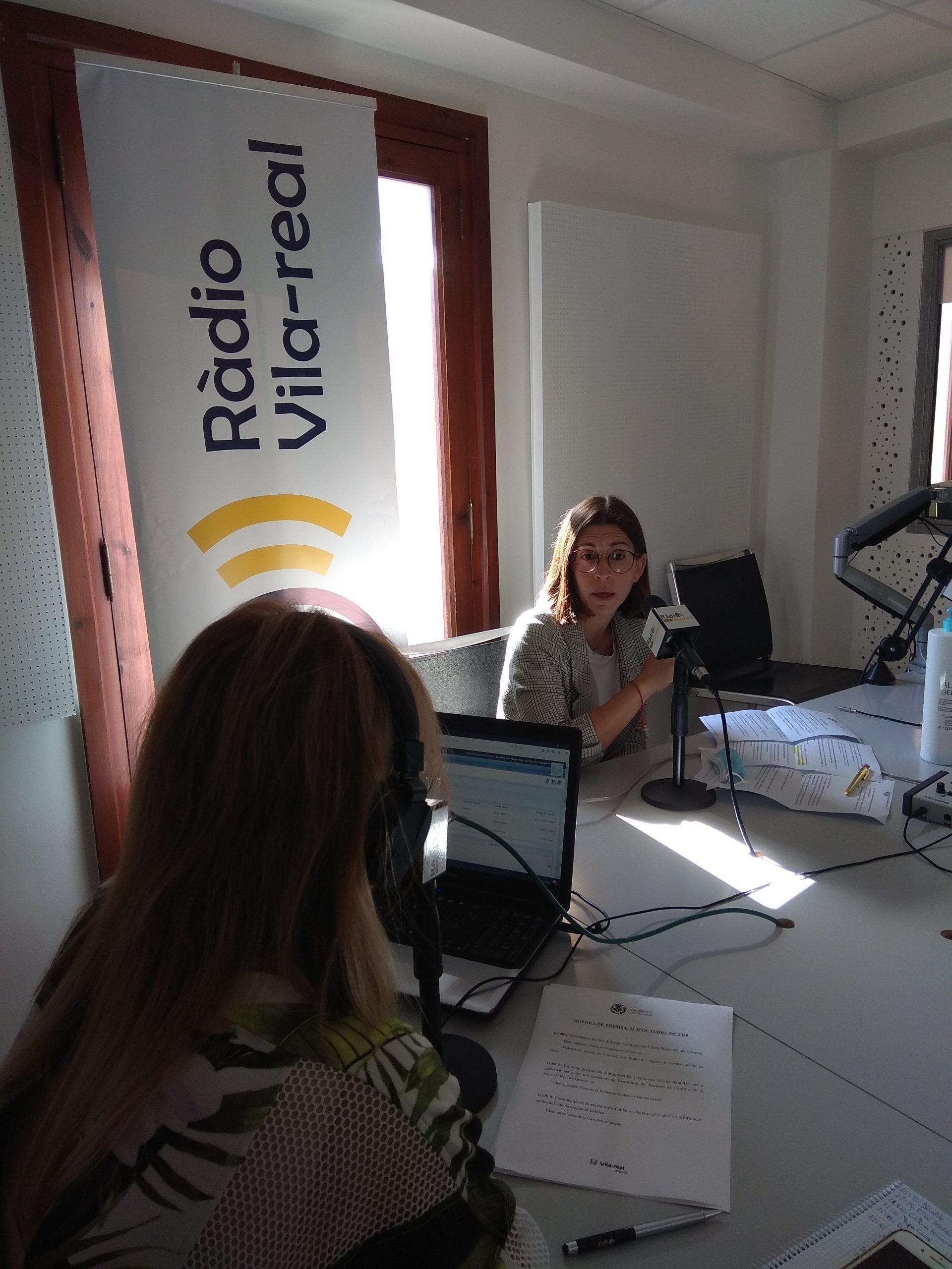 Entrevista a al concejala de Patrimonio de Vila-real, Noelia Samblás