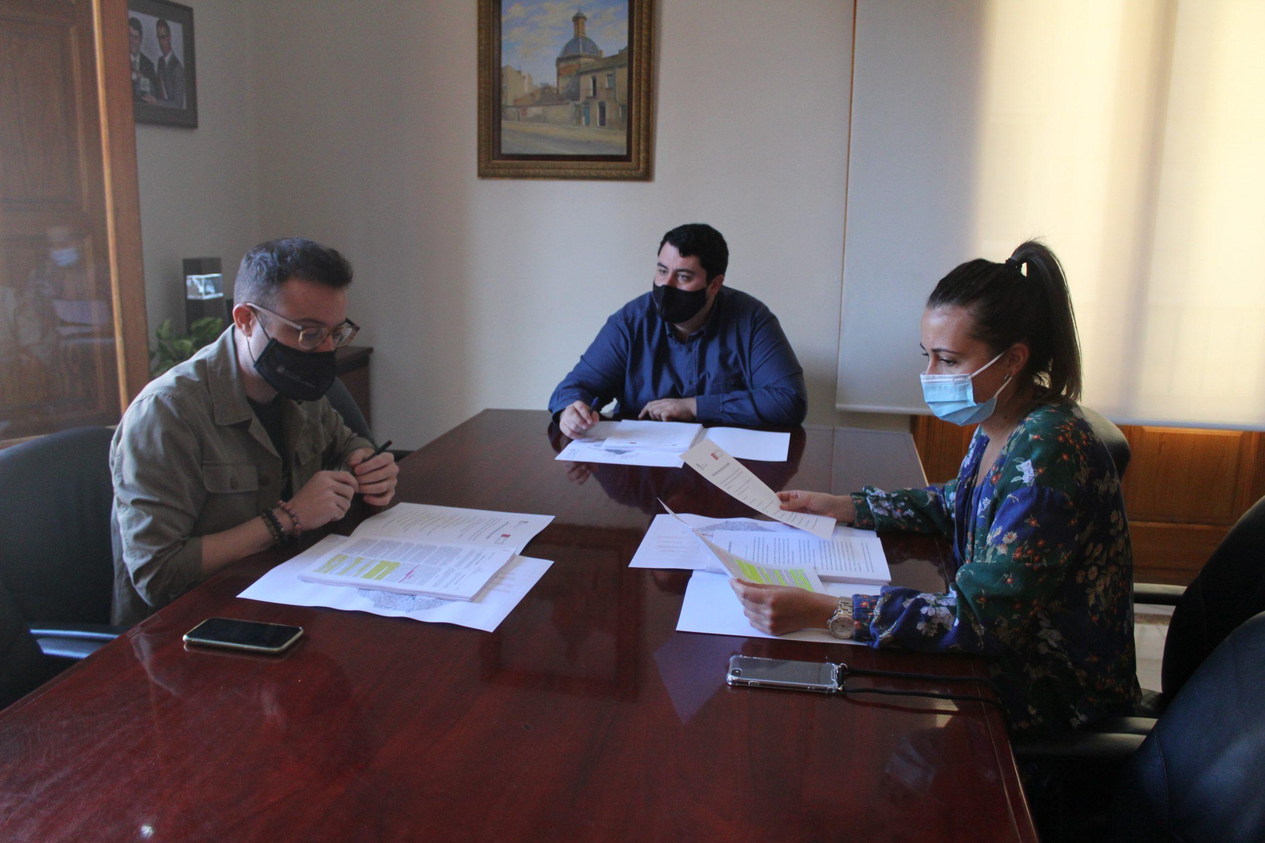 Nules trabajará con la Diputación de Castellón la promoción y protección del patrimonio de la Guerra Civil