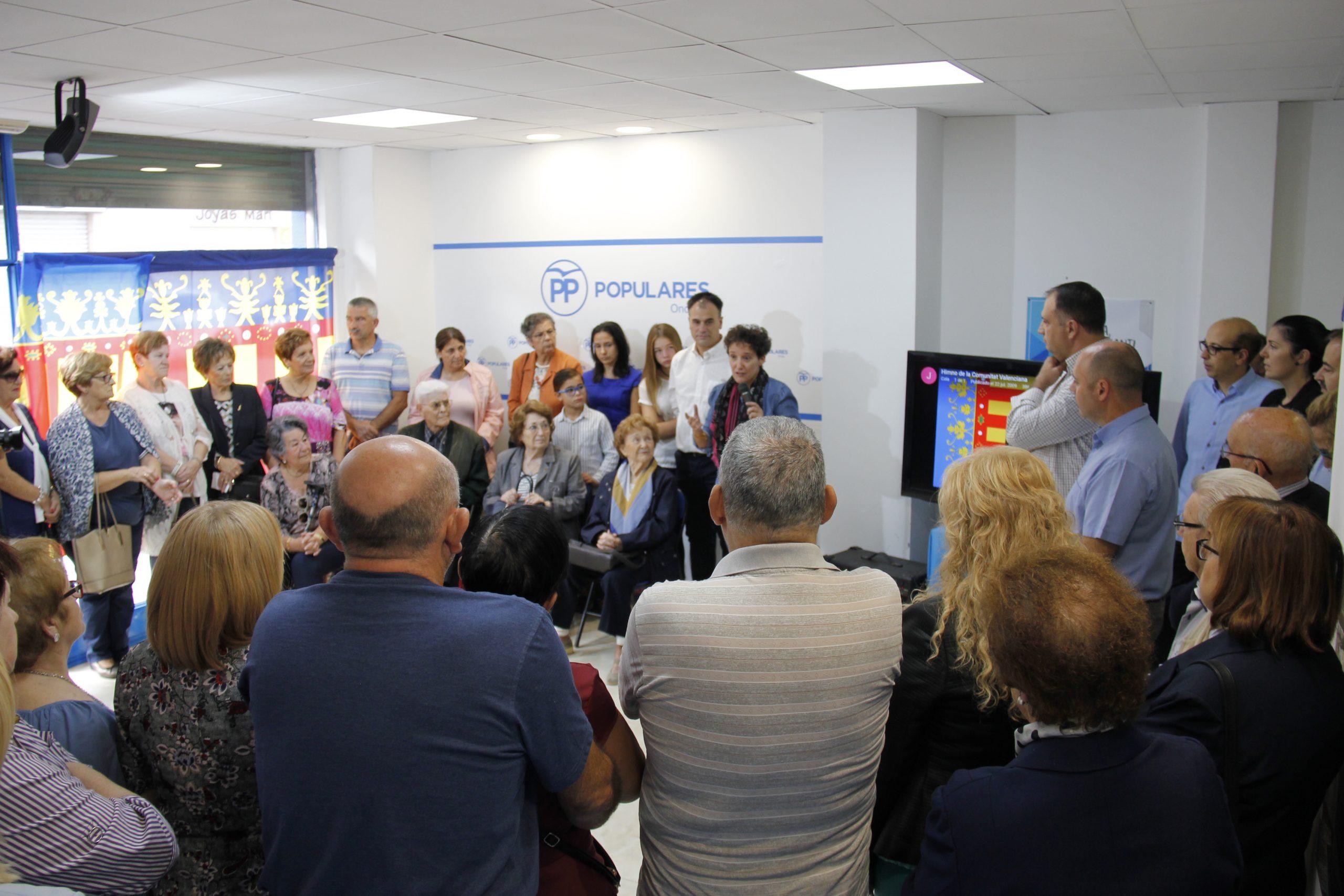 El PP Onda anima als veïns a omplir Onda de banderes de la Comunitat Valenciana el 9 d'Octubre