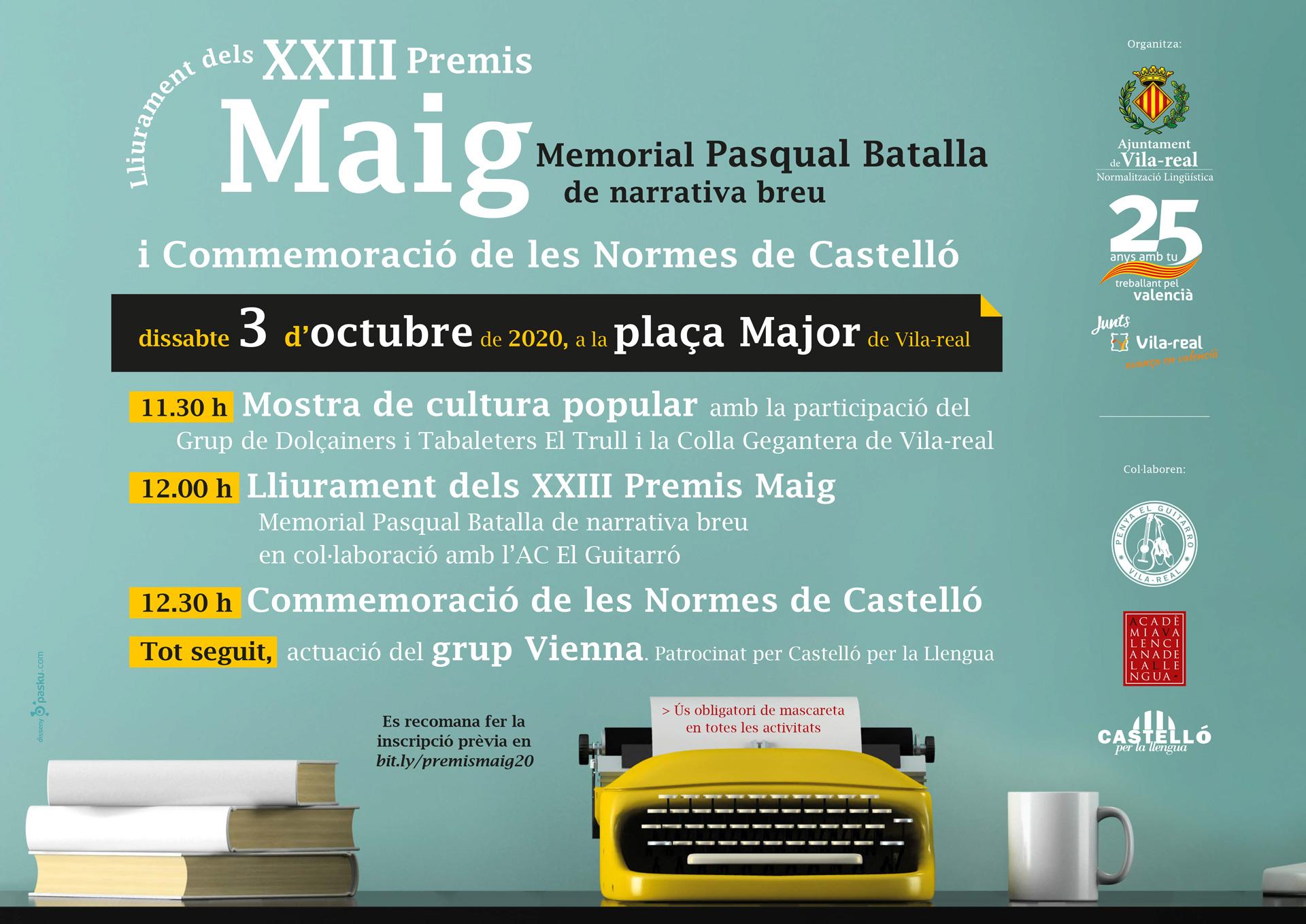 Normalización Lingüística celebra el 9 d'Octubre con una programación especial en defensa del valenciano