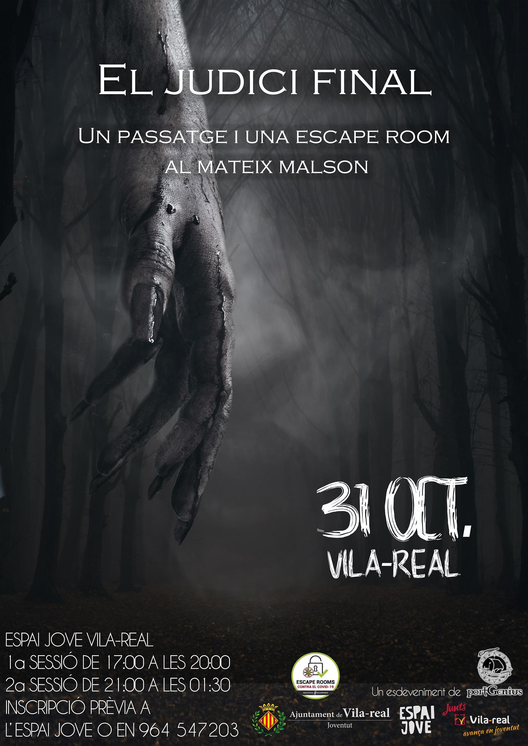 El Espai Jove se convertirá en una 'escape room' de terror en una fiesta de Halloween adaptada a la covid-19