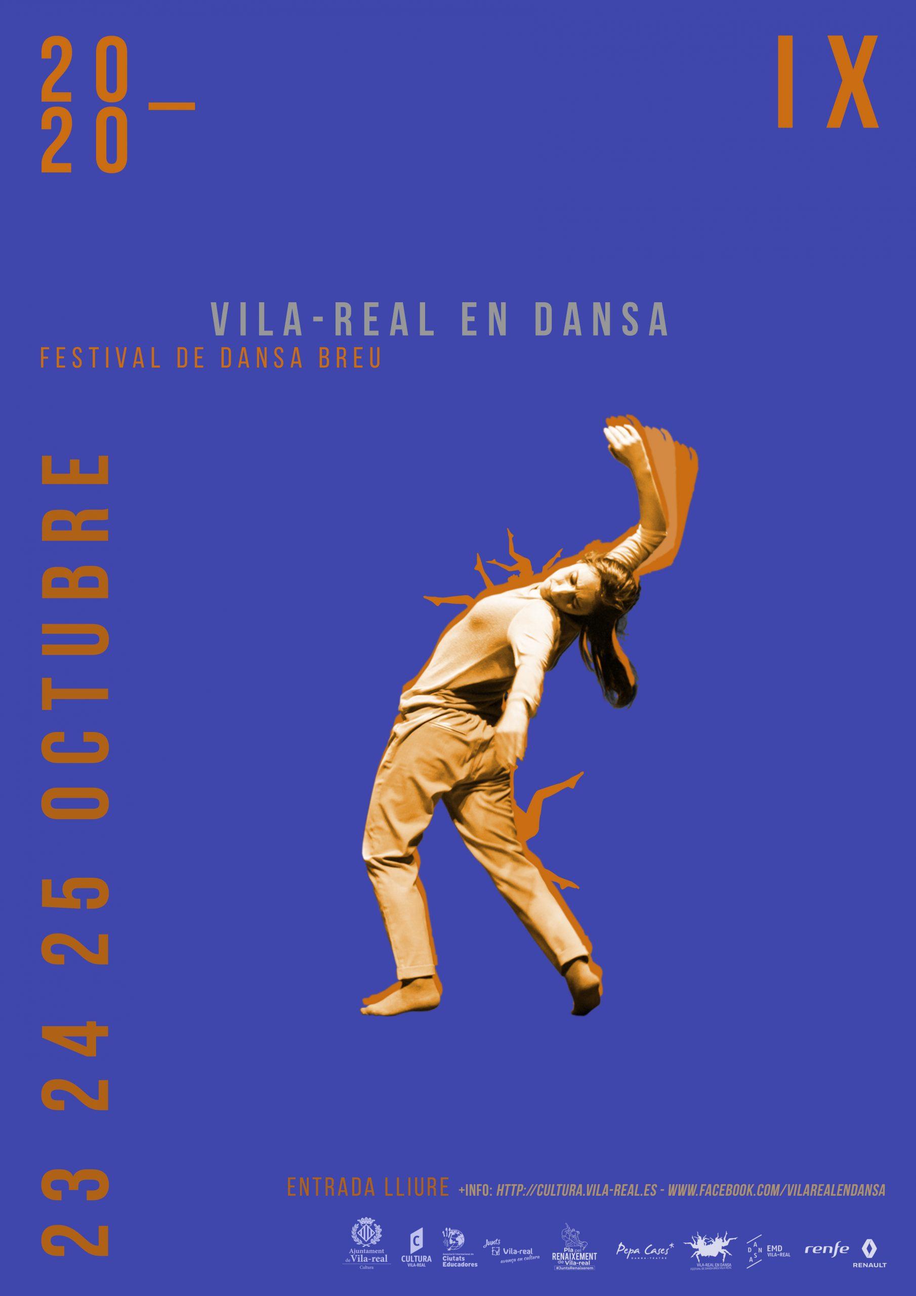 Vila-real en dansa propone tres jornadas de danza contemporánea segura en espacios al aire libre y el Auditori