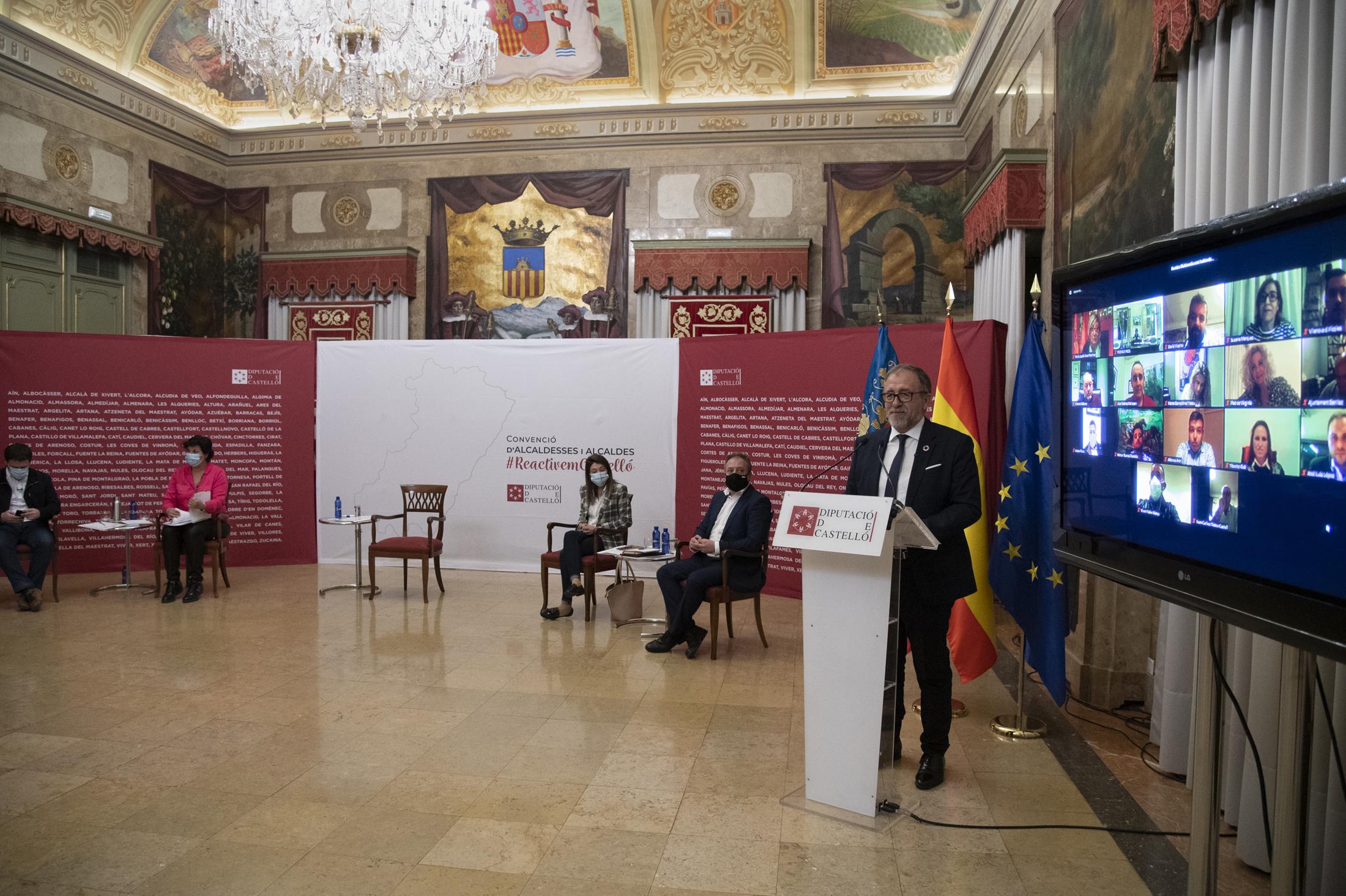 José Martí destaca los 10 millones de euros invertidos en la Plana Alta y apela al trabajo conjunto en 2021