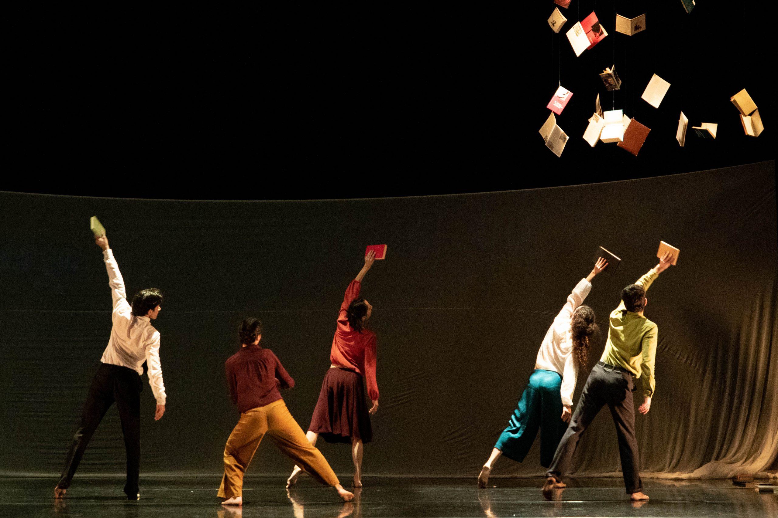 Burriana acerca la vida y obra de Antonio Machado con un espectáculo de danza contemporánea