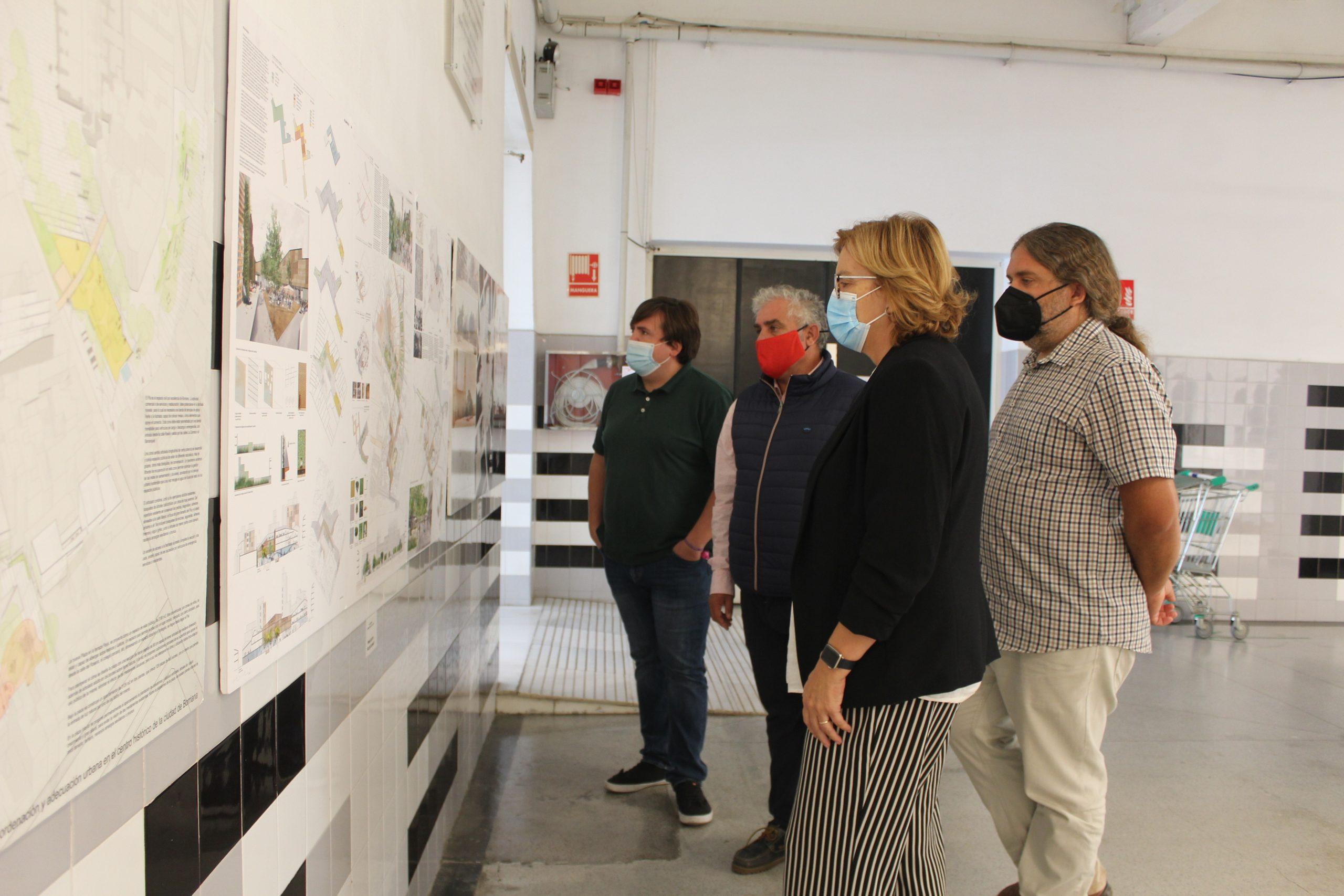 Borriana expone las propuestas del concurso de ideas para la adecuación de su centro urbano