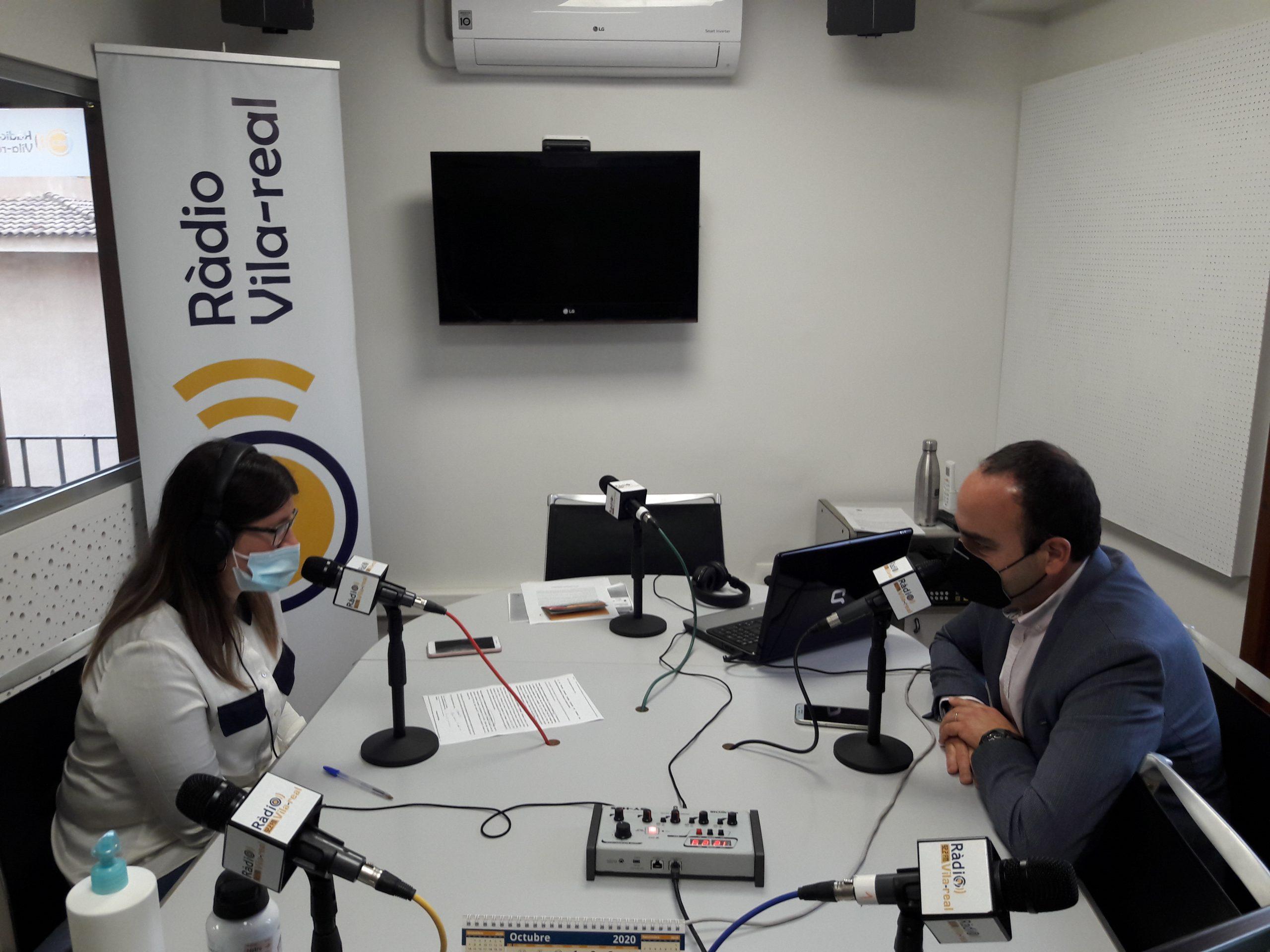 Entrevista al portavoz del Cs de Vila-real, Domingo Vicent