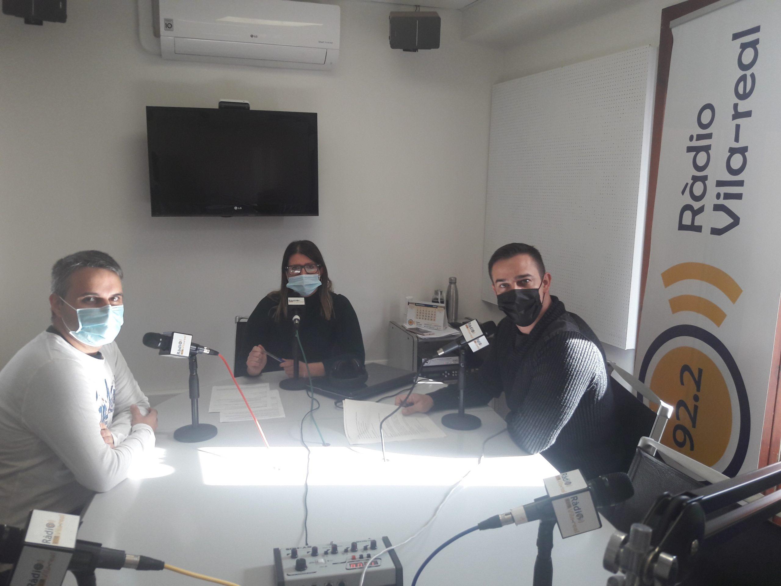 Entrevista al coordinador de la Fundació de Caixa Rural de Vila-real, Miquel Ortells, y el formador en ciberseguridad, Jaume Martín