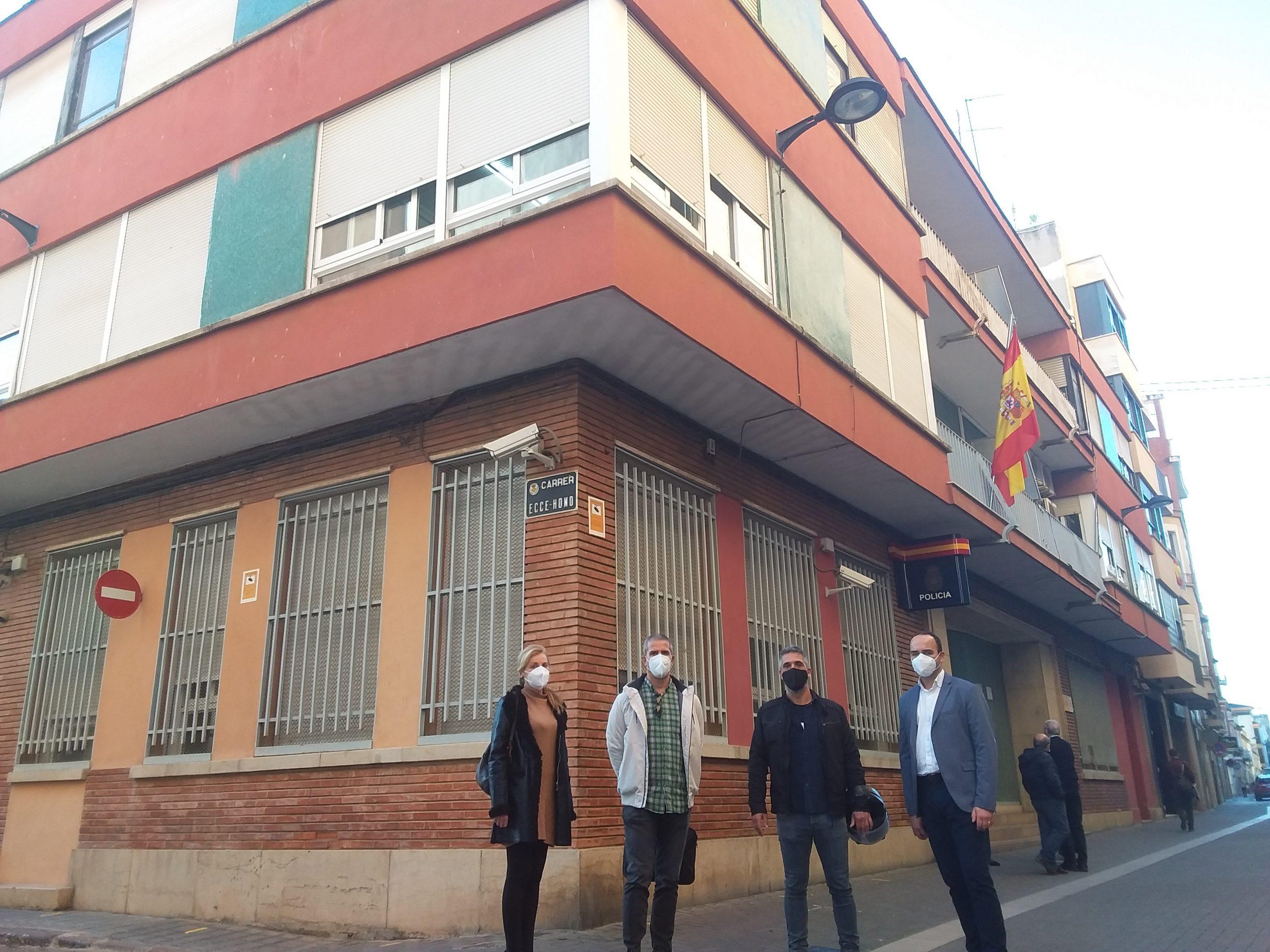 Cs se une a JUPOL para reivindicar una comisaría digna para Vila-real