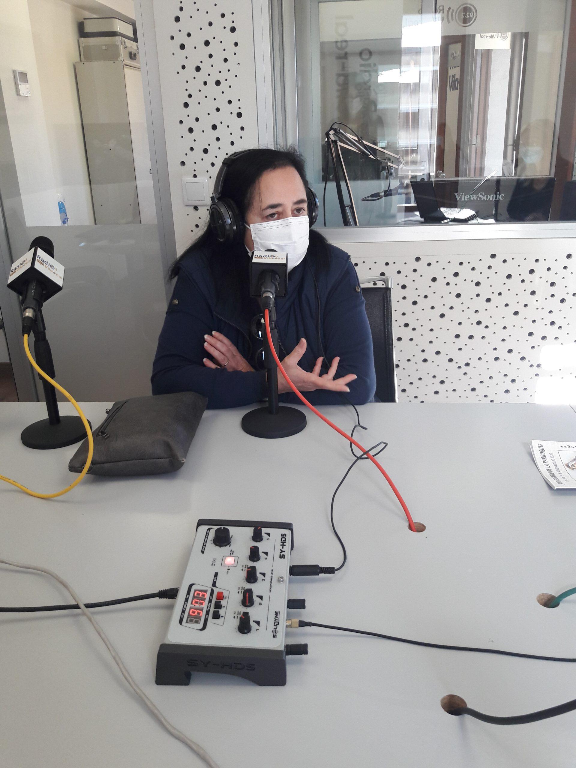 Entrevista a la Presidenta de la Cofradía de Santa Isabel de Vila-real, Amelia Moner