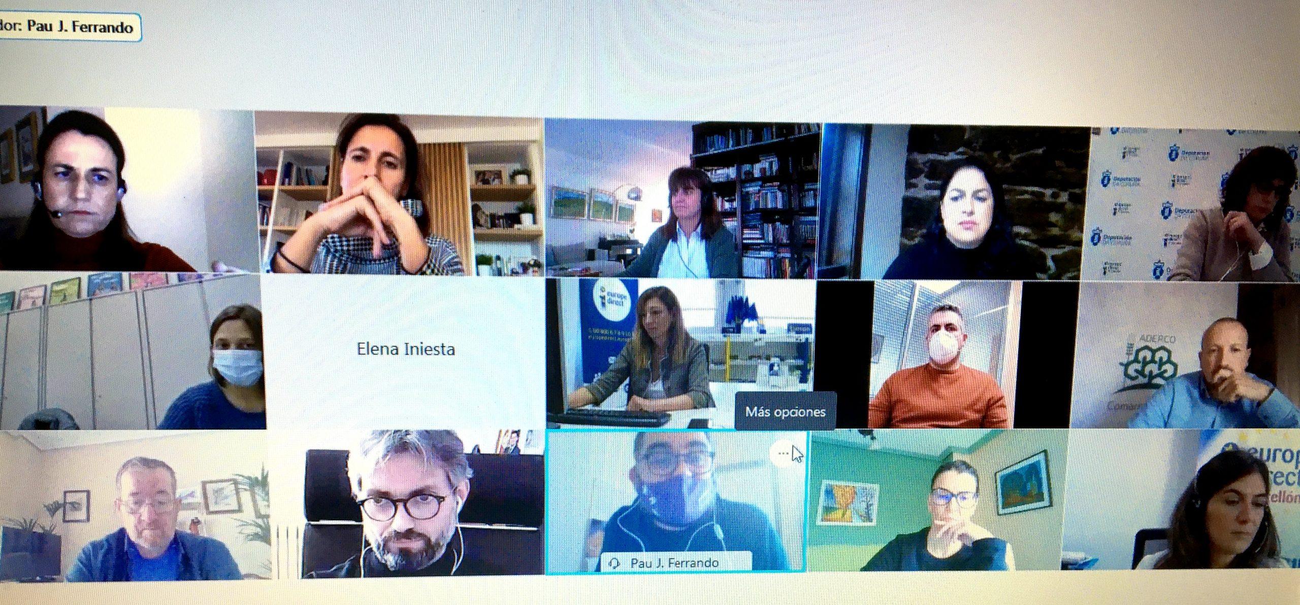 La jornada virtual 'Mujer rural en la UE' de la Diputación de Castellón visualiza a las emprendedoras del interior