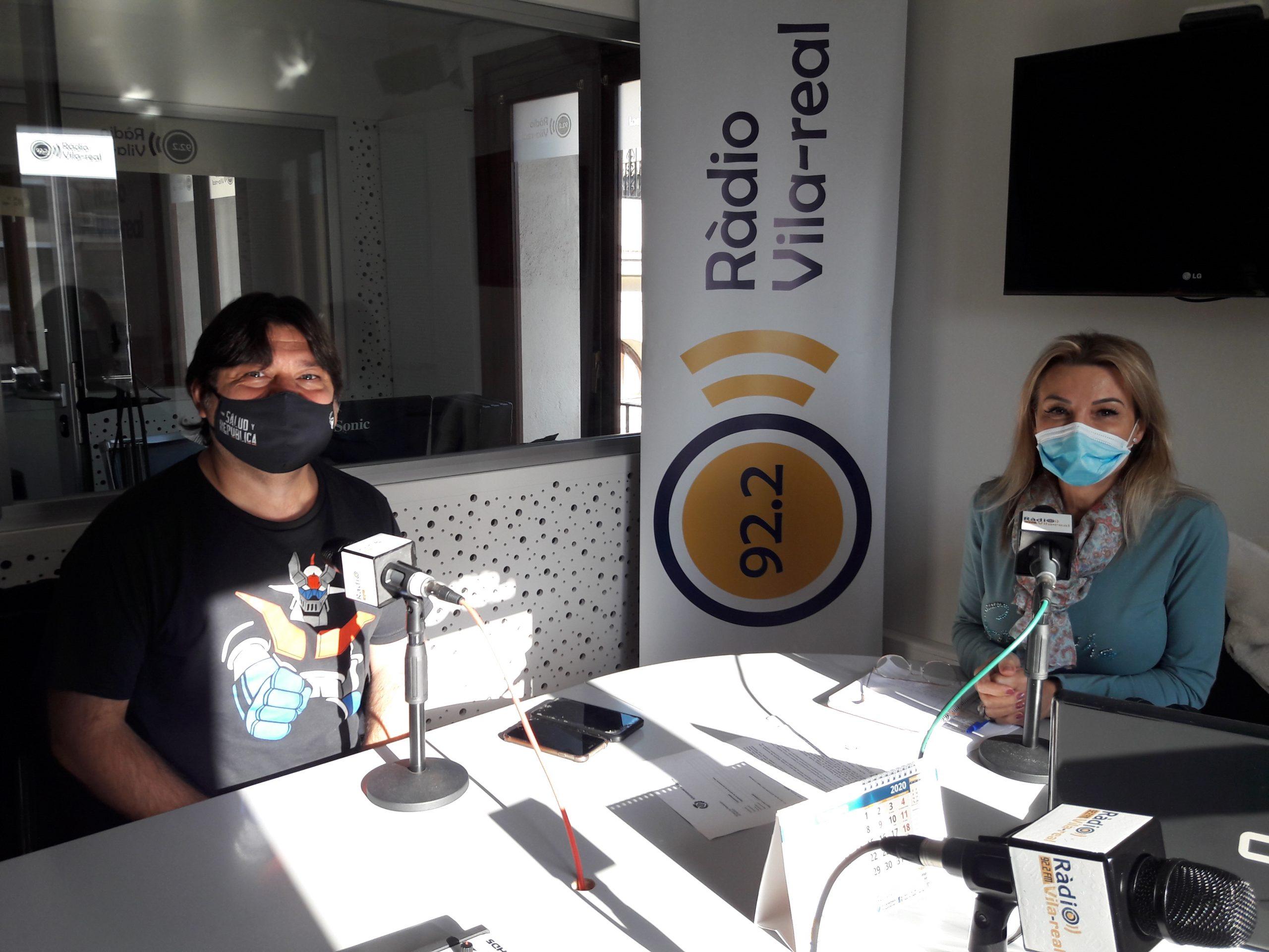 Entrevista al portavoz de Unidas Podemos en Vila-real, José Ramón Ventura Chalmeta