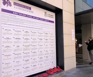 Almassora reúne el testimonio de supervivientes de violencia machista en el 25N