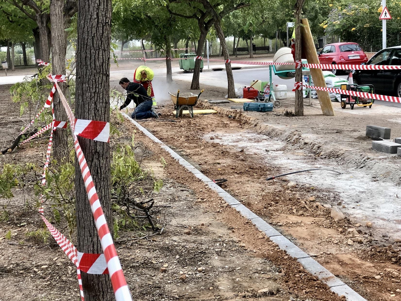 El nuevo carril bici urbano de Almassora conectará con Borriana y  Castelló