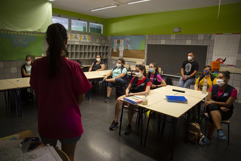 Las enfermeras escolares de Onda llevan 75 días fuera de los colegios esperando la autorización de la Generalitat