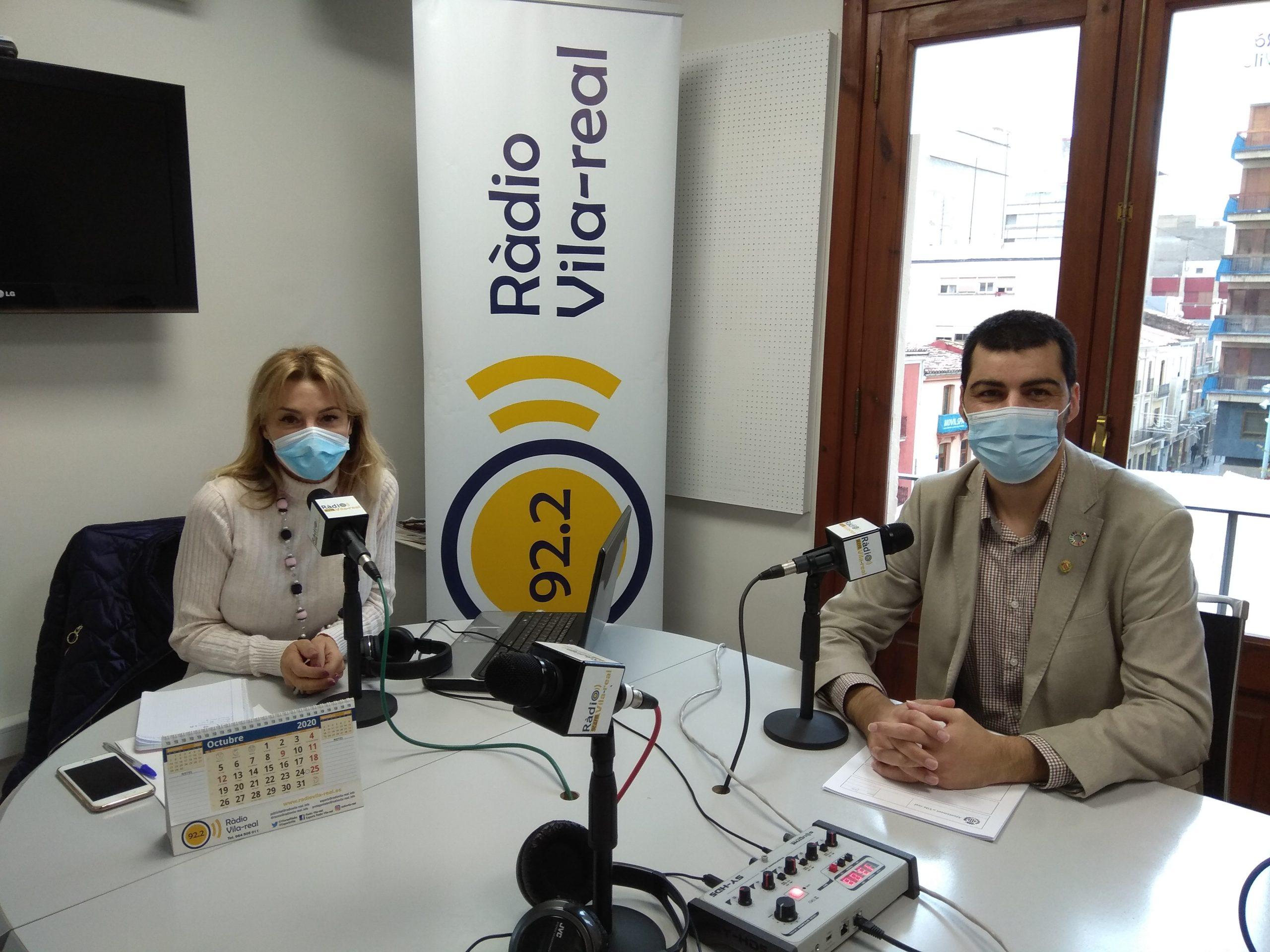 Entrevista al concejal de Servicios Sociales de Vila-real, Álvaro Escorihuela