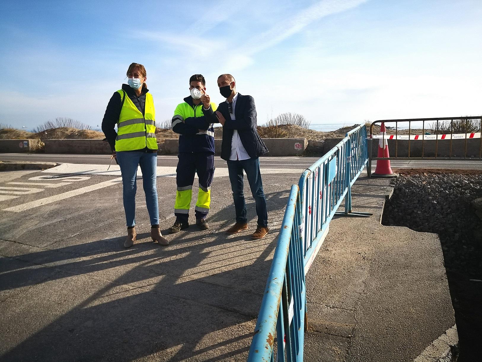 Almassora destina más de 40.000 euros a la mejora de la red de agua potable en la playa