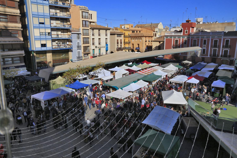 Vila-real ultima el dispositivo de la Feria de Santa Catalina para recuperarla en noviembre