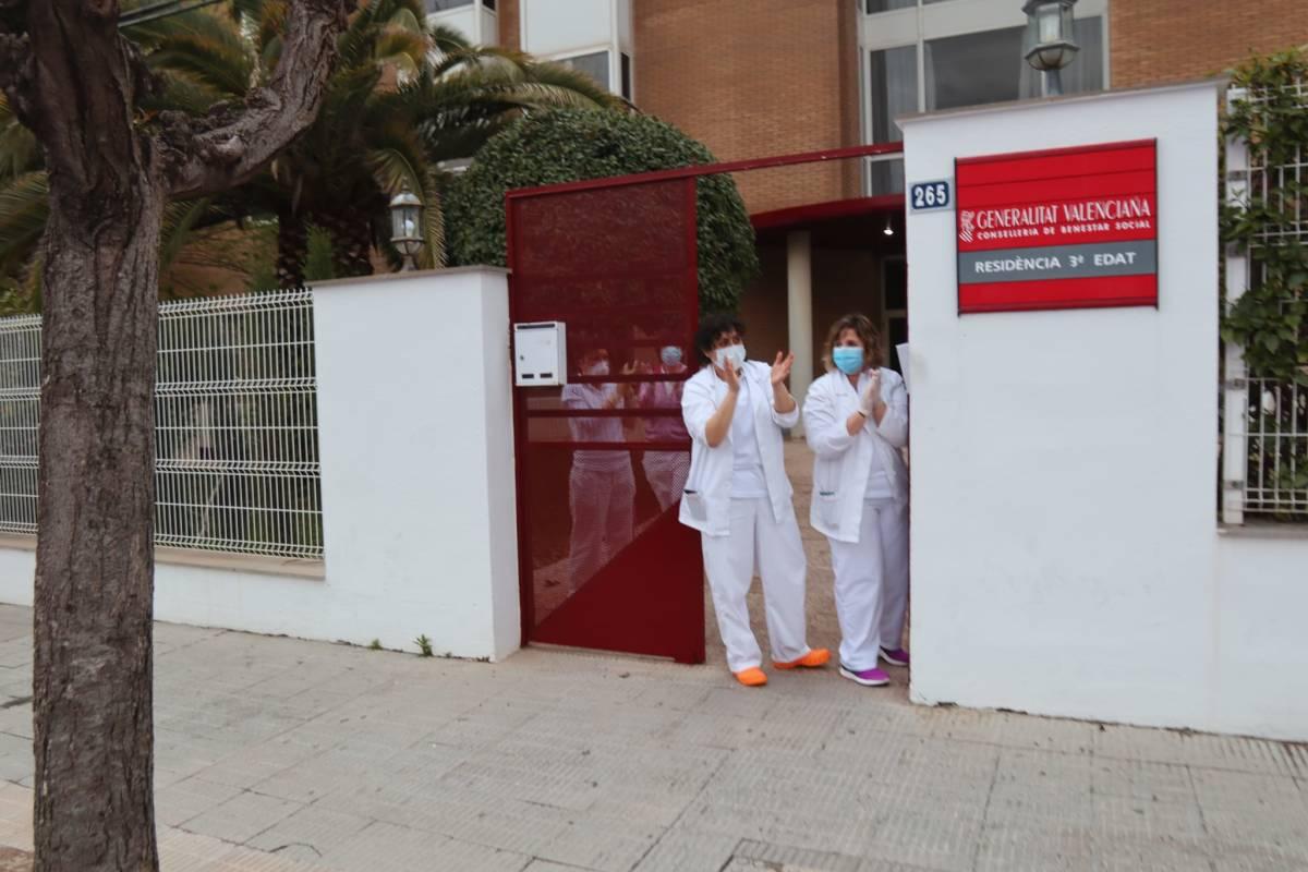 Confirmado un empleado infectado de covid-19 en la residencia y centro de día de la Virgen de Gracia de Vila-real