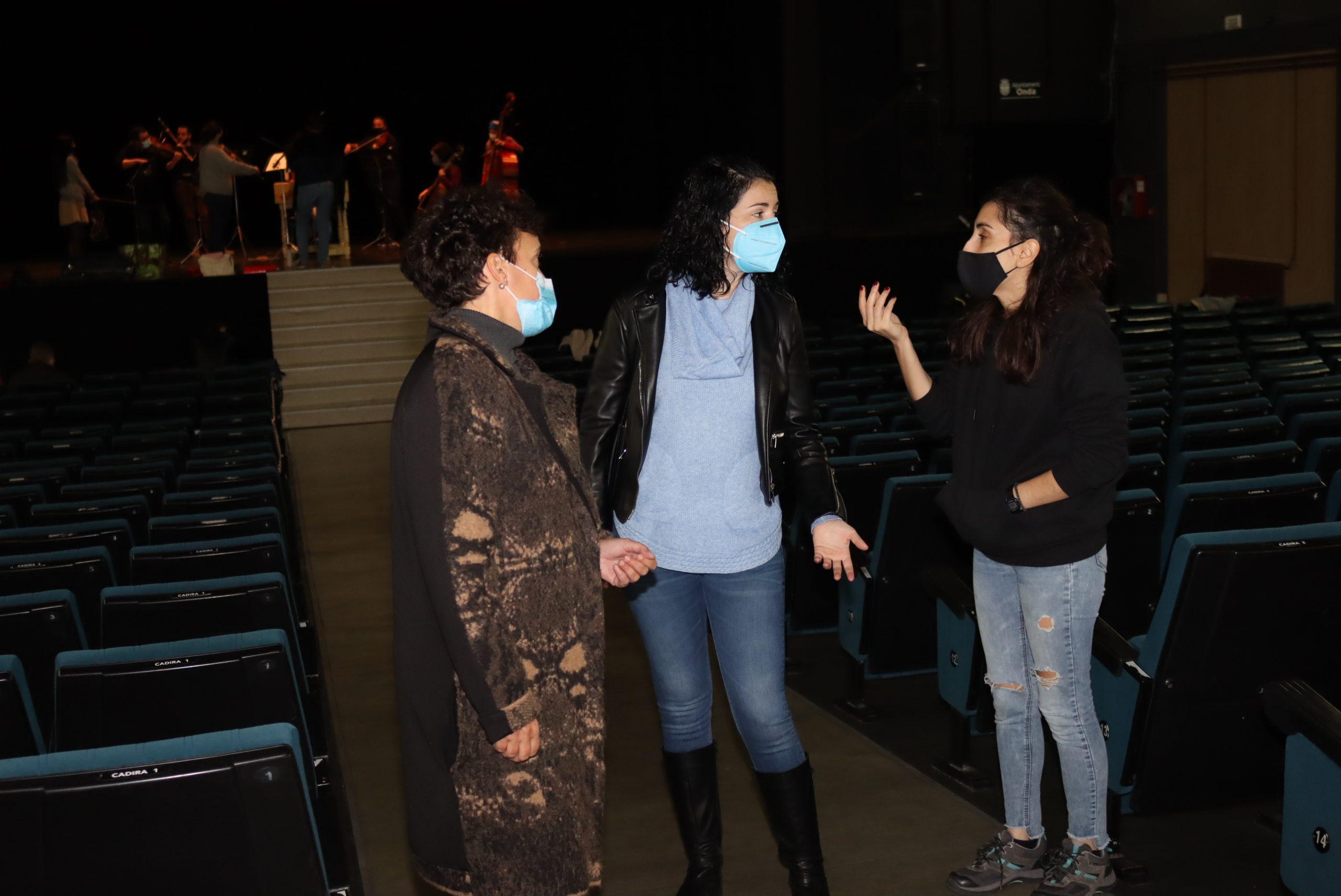 El Teatro Mónaco de Onda vuelve a levantar el telón tras las obras de modernización e instalar tecnología puntera de luz y sonido