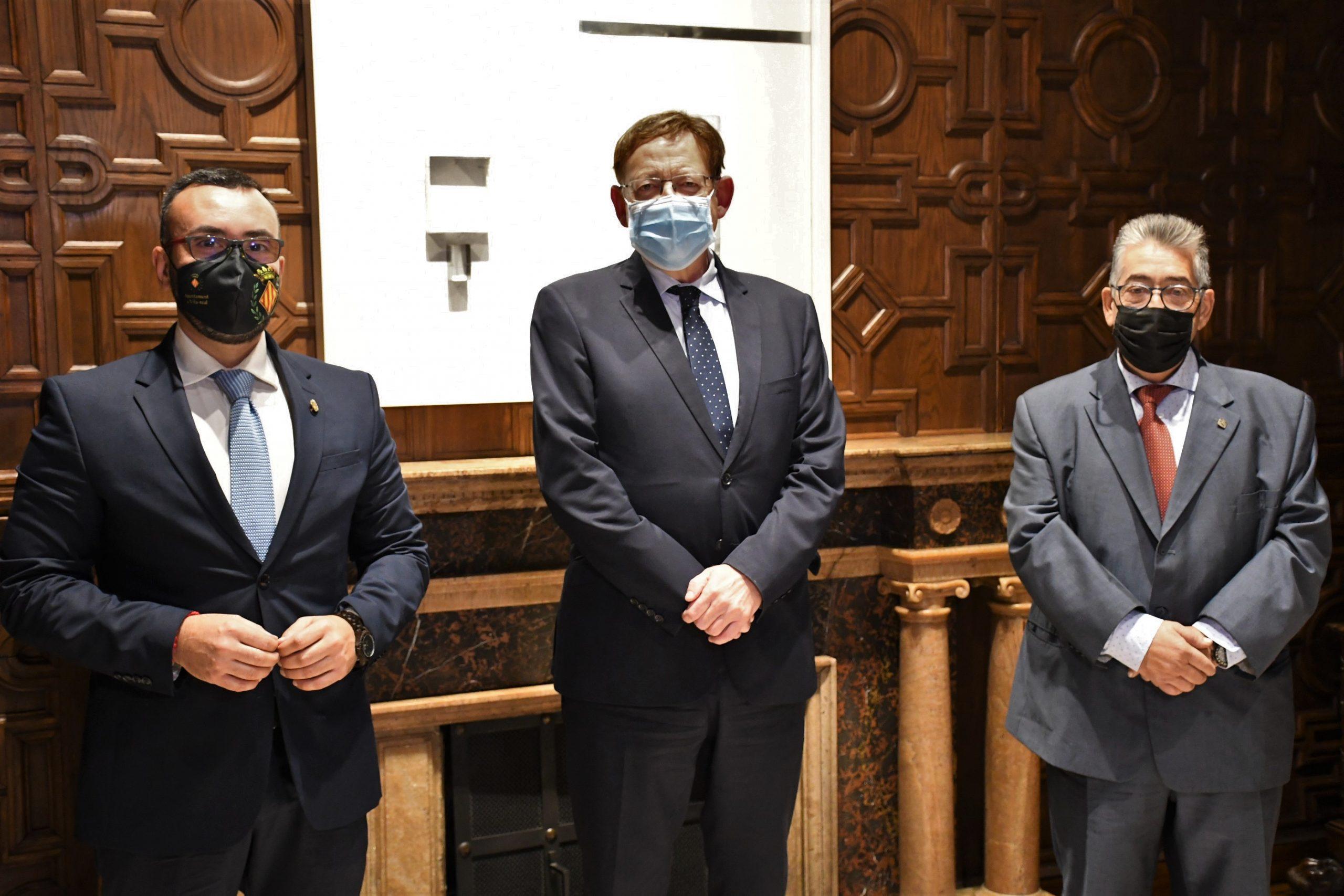 Benlloch recaba el apoyo de la Generalitat a Destaca, que arranca esta semana con el reto de la recuperación post-covid