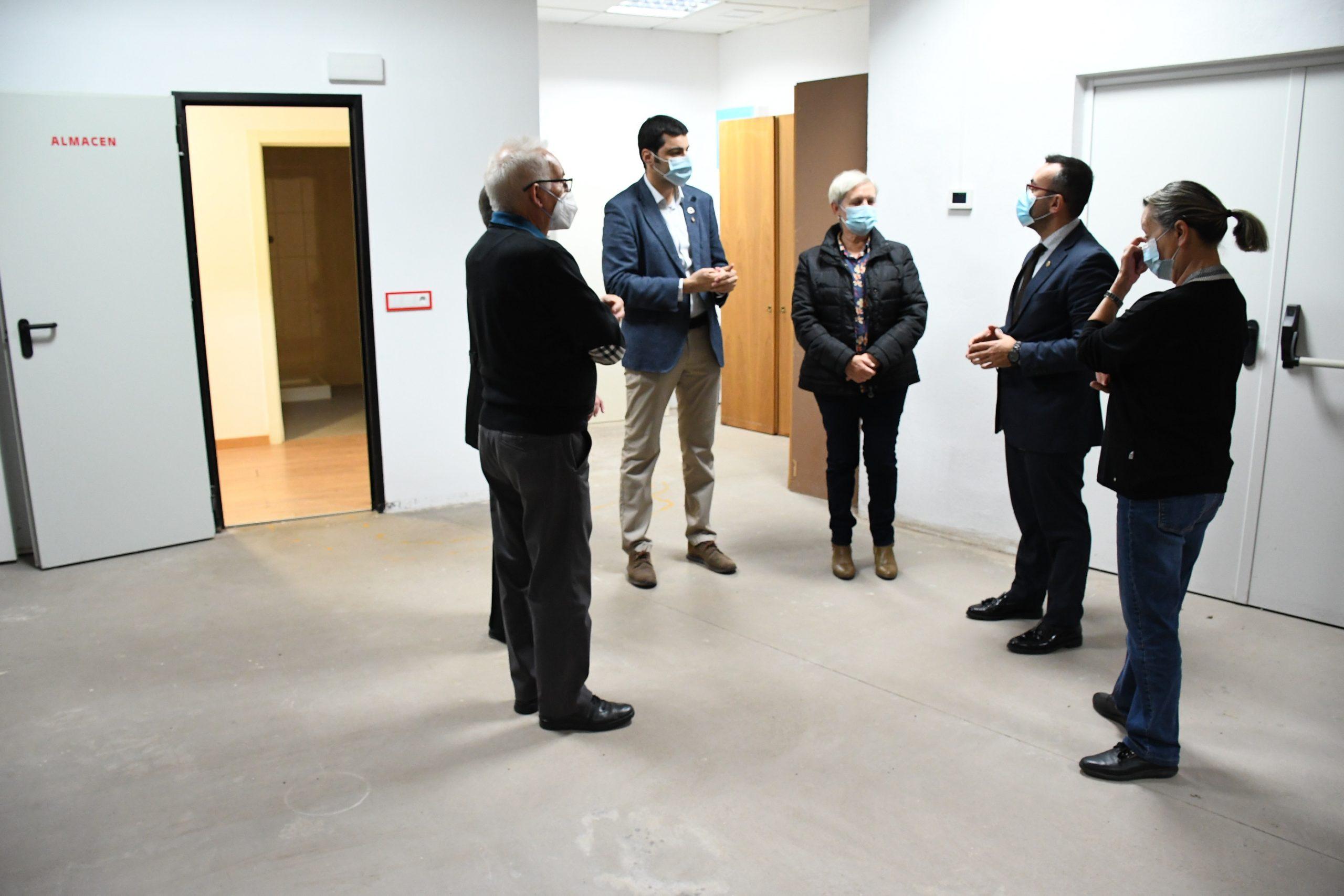 Vila-real refuerza su proyecto de ciudad solidaria con un  nuevo aulario de formación de Cruz Roja
