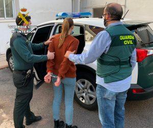 La Guardia Civil detiene a una persona cuando se disponía a robar en una empresa de Benicarló