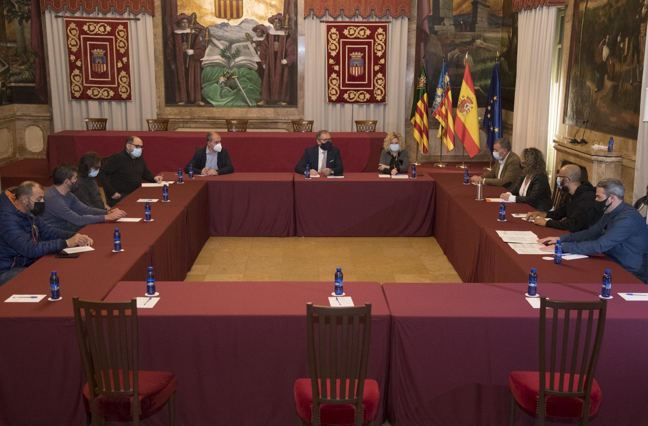 El presupuesto de la Diputación de 2021 incluye un Plan Reactivem de 5 millones de euros para pymes y autónomos