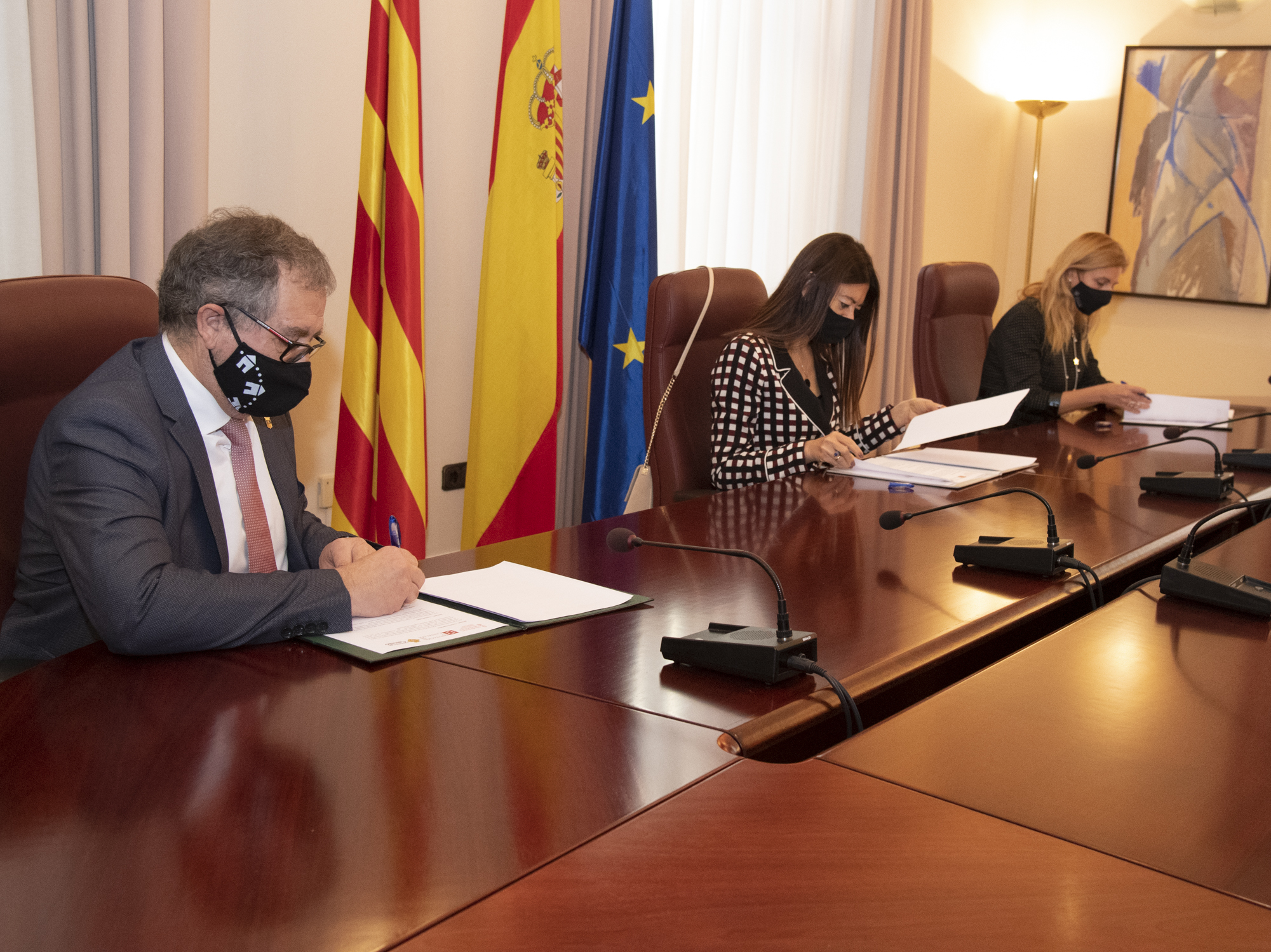 José Martí pone el foco en los fondos europeos para superar la brecha digital territorial y social en coordinación con la Generalitat