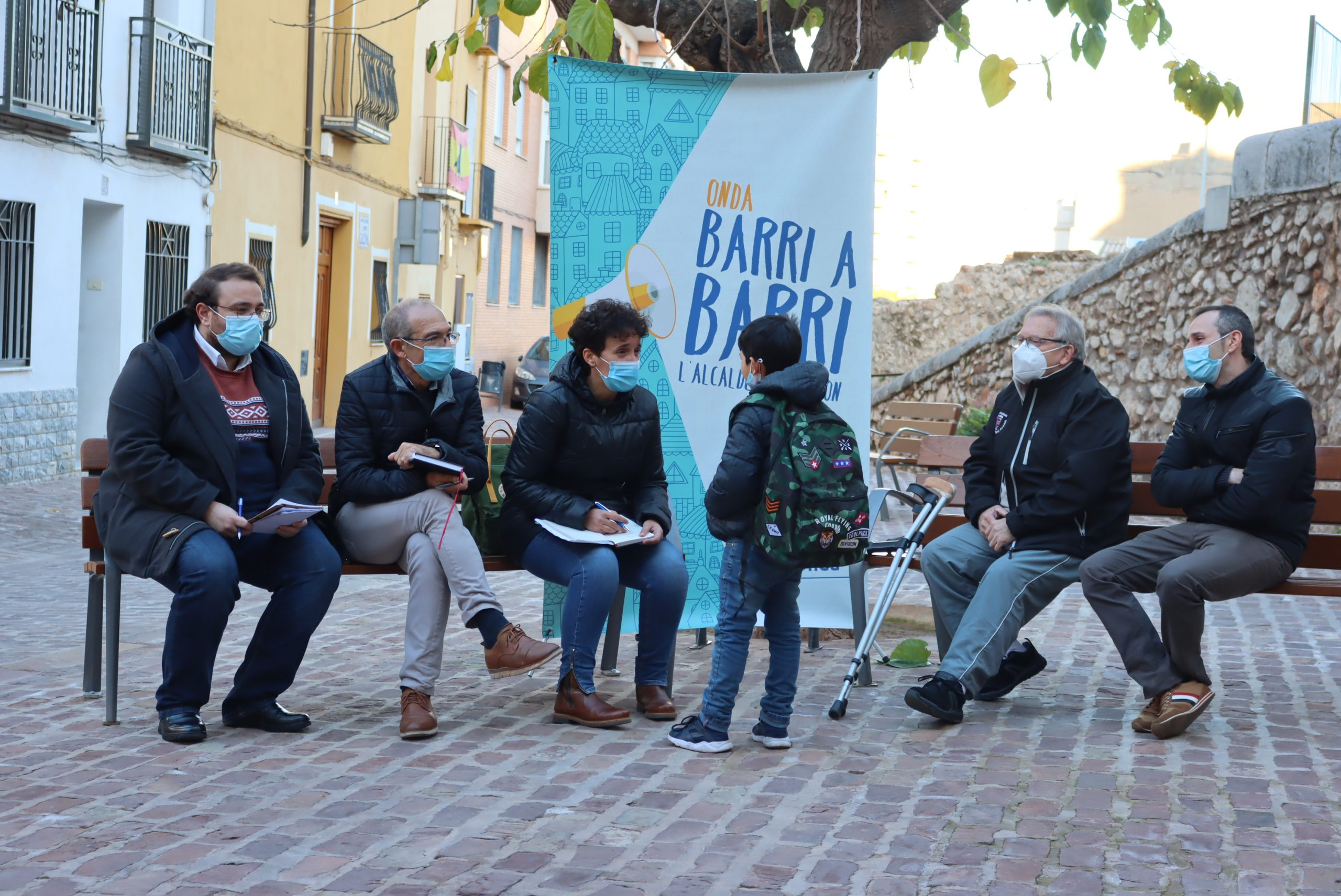 El equipo de Ballester regresa a las plazas para reactivar la campaña de escucha ciudadana 'Onda barri a barri'