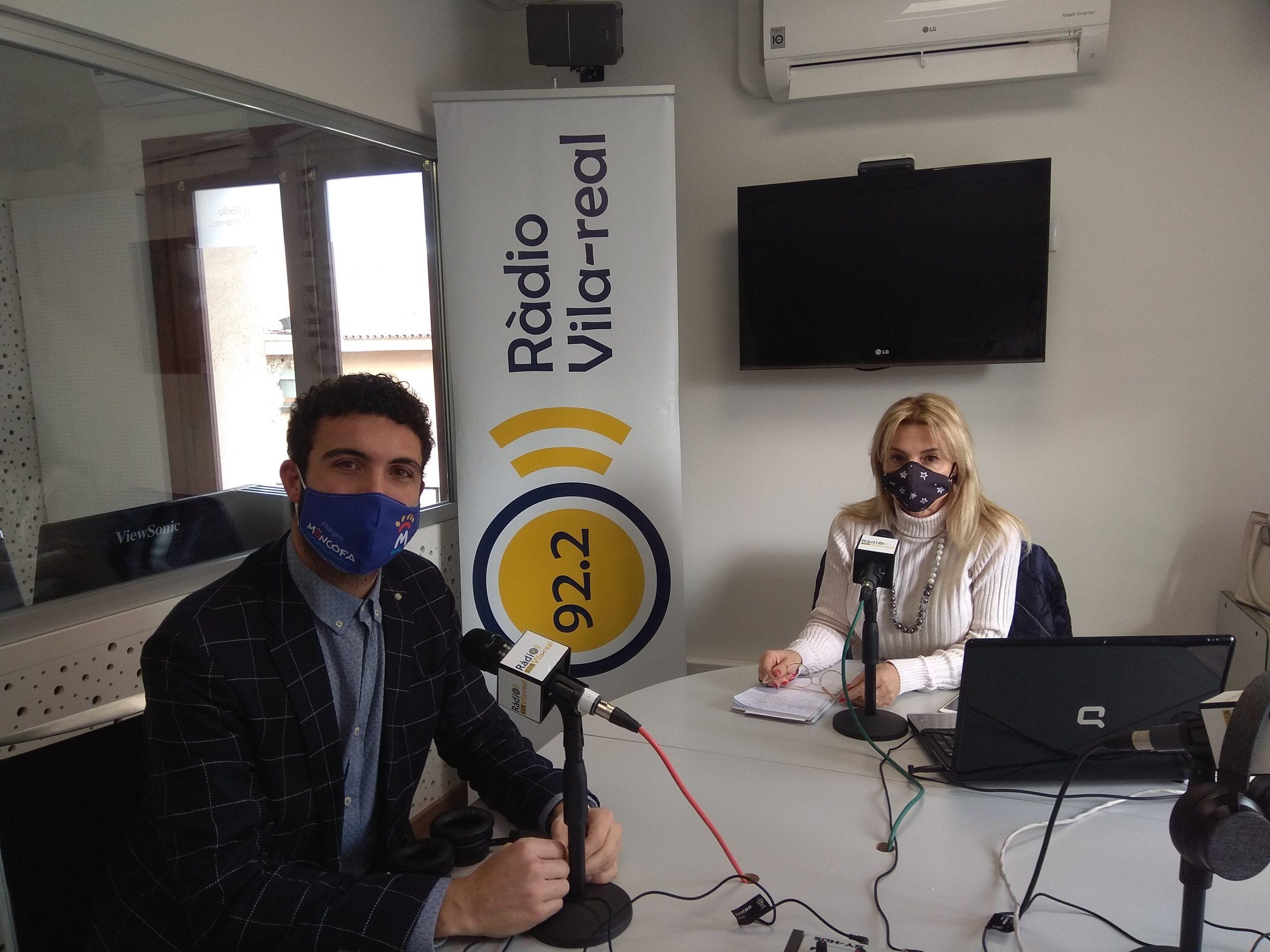 Entrevista al portavoz de Podem en Moncofa, Rafa Segarra