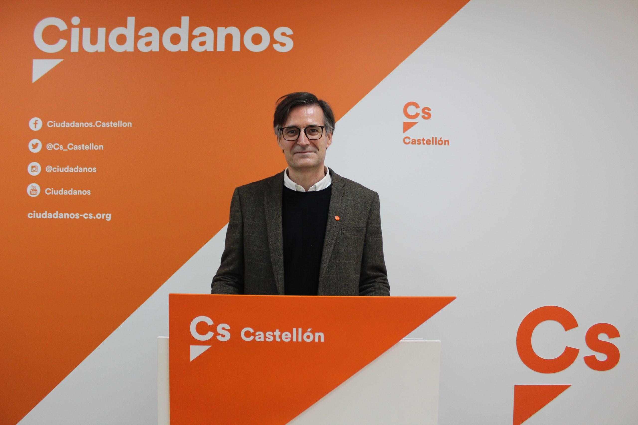 Entrevista al secretario de organización de Cs en la provincia de Castellón, Ernesto Doménech