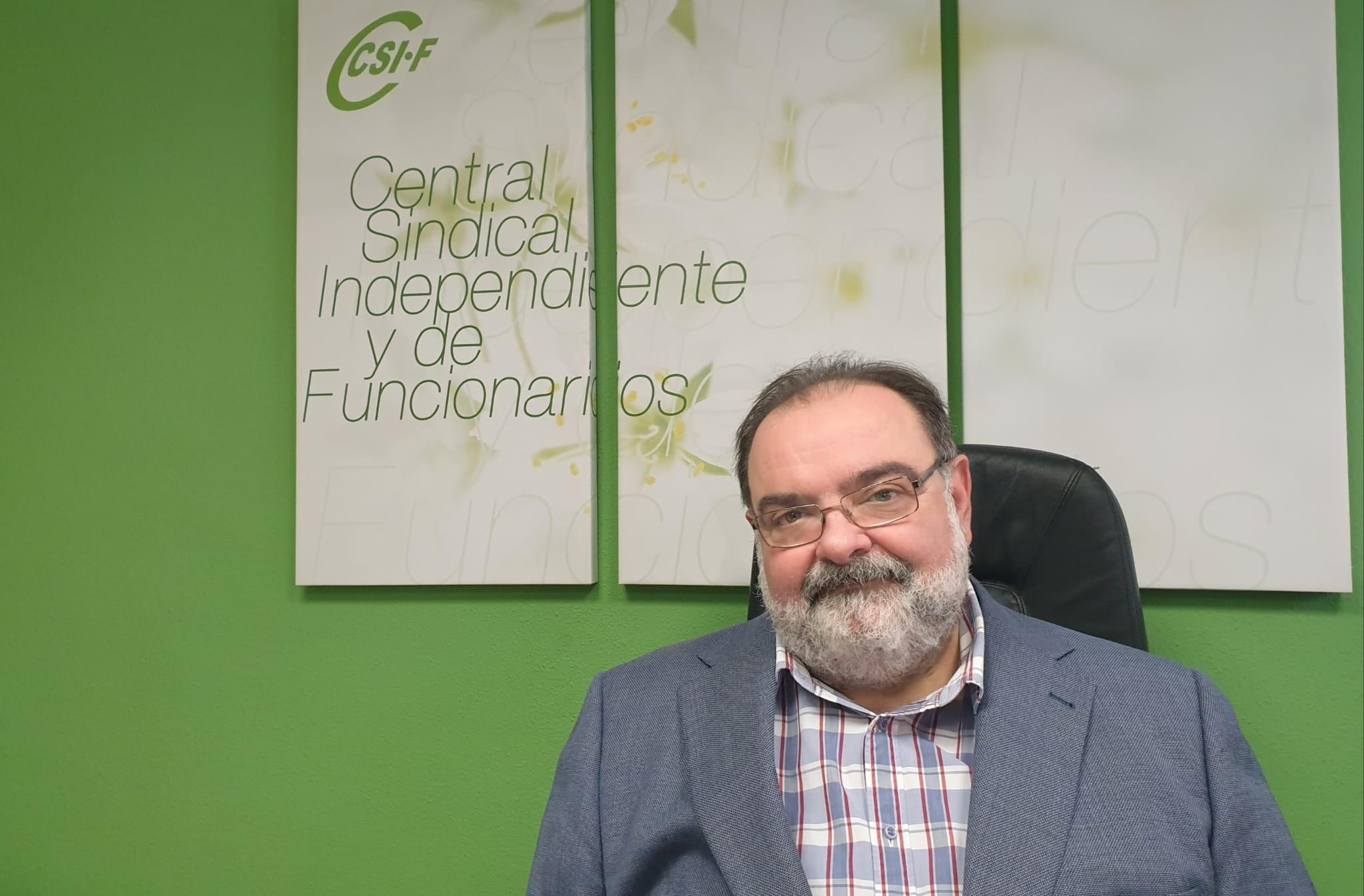 Entrevista al portavoz de Sanidad del CSIF, Vicente Navarro