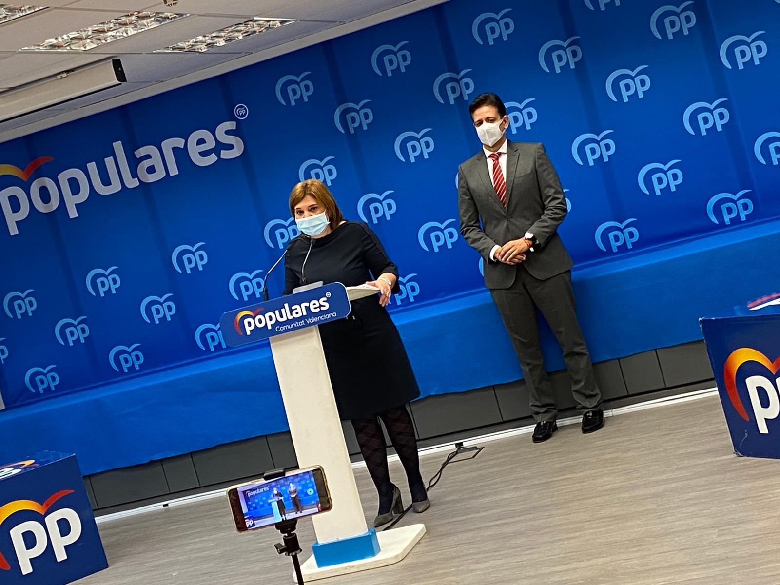 El PPCV pide la comparecencia de Mónica Oltra para que explique el plan de vacunación en residencias de mayores