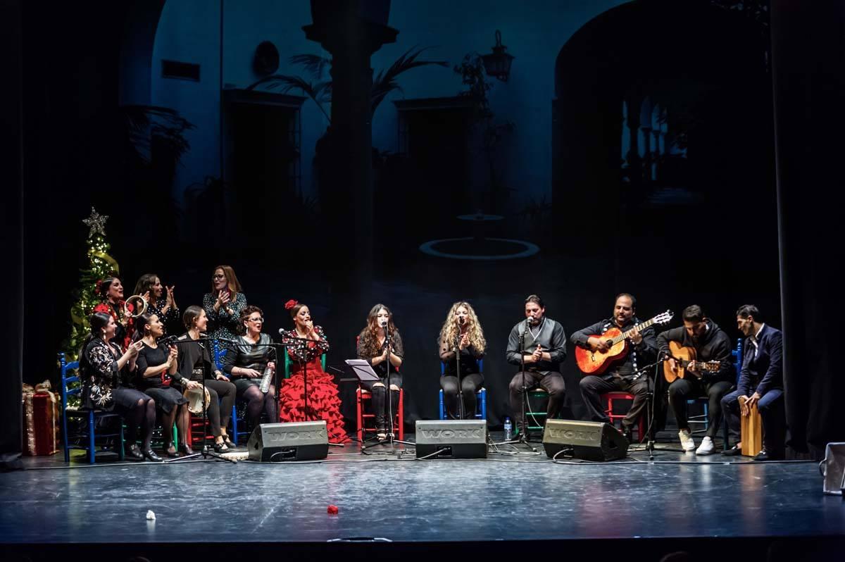 La Navidad jerezana llega al Teatro Payà de Burriana el próximo domingo 3 de enero de la mano de La mar de Flamenca y su 'Zambombá Flamenca'