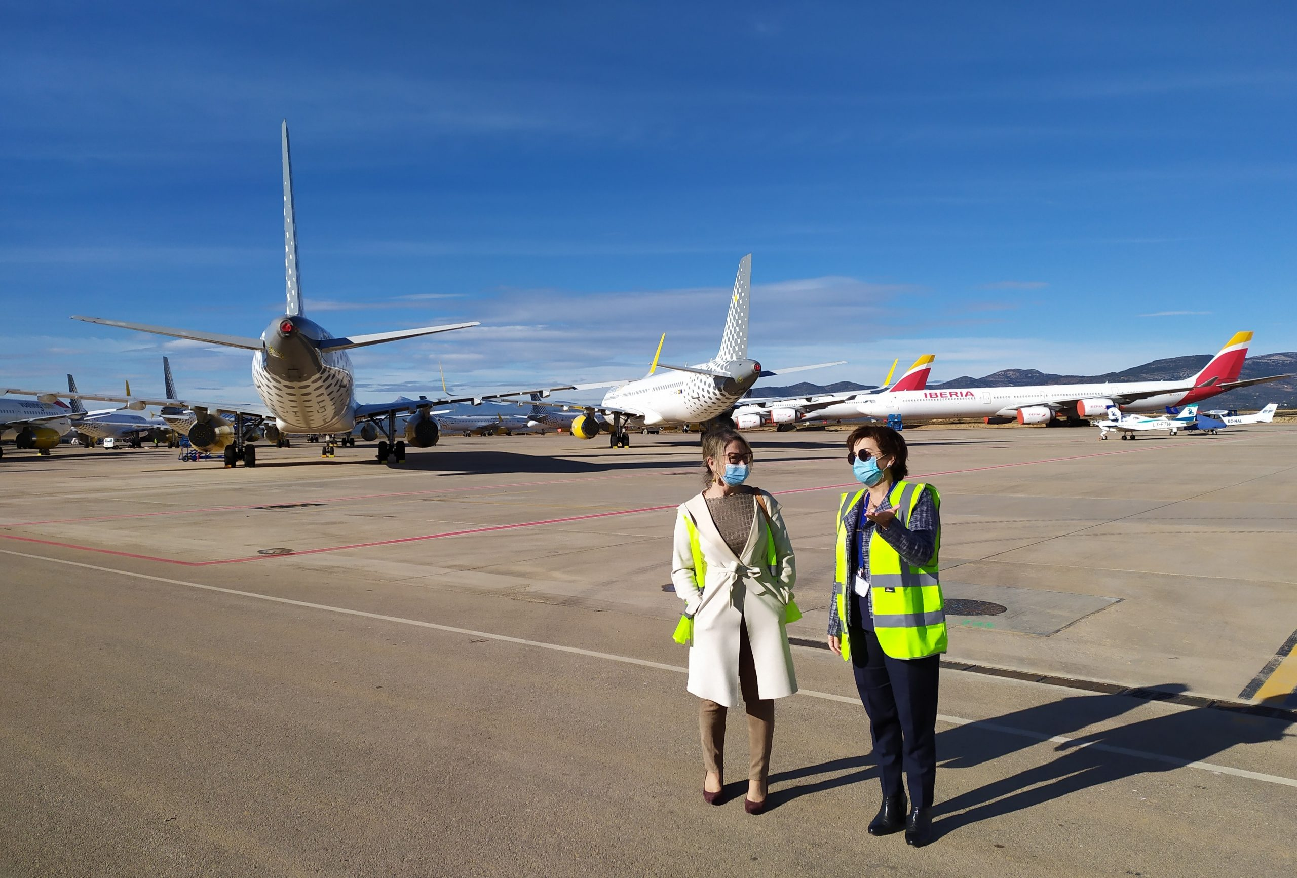 El aeropuerto de Castellón se alinea con Europa en materia de digitalización, transición ecológica y resiliencia