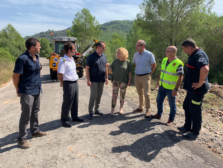 La Diputación de Castellón y la Generalitat Valenciana invertirán 600.000 euros para garantizar la seguridad en el vial que une Cabanes y Oropesa
