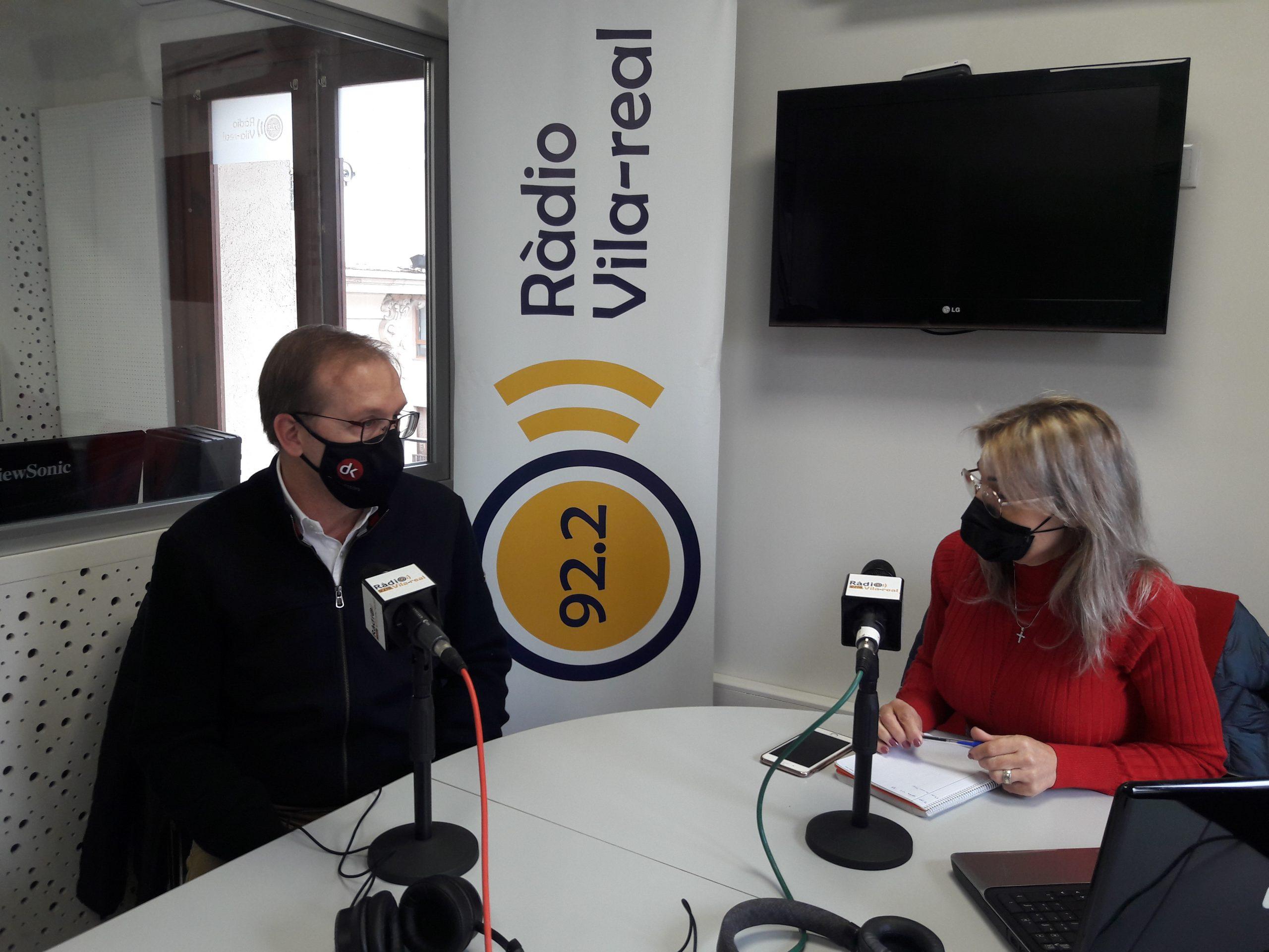 Entrevista al economista y concejal del PP de Vila-real, Carlos Gil