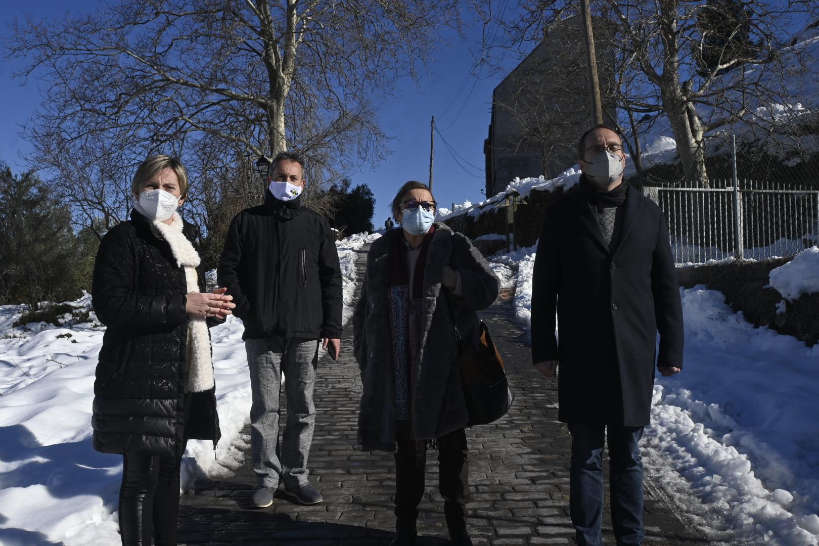 Blanch (PSPV-PSOE) destaca el trabajo y la entrega de los alcaldes y alcaldesas socialistas durante el temporal de nieve y frío
