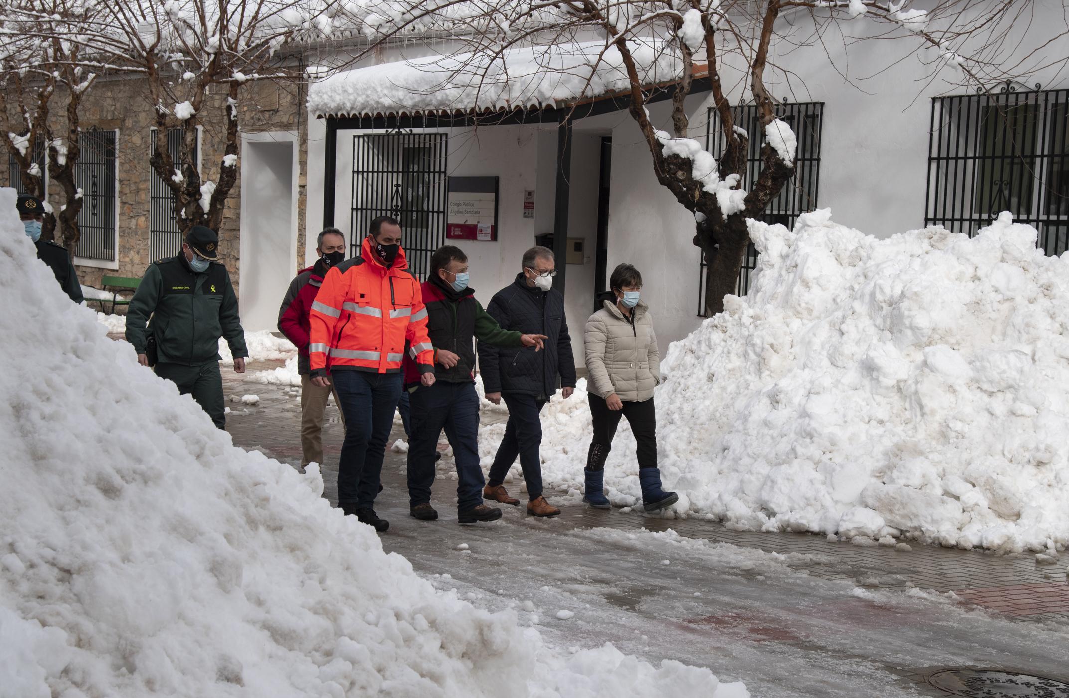 Los bomberos de la Diputación de Castellón han destinado 360.000 euros para actuar por 'Filomena' en un área con 80 municipios y 40.000 habitantes