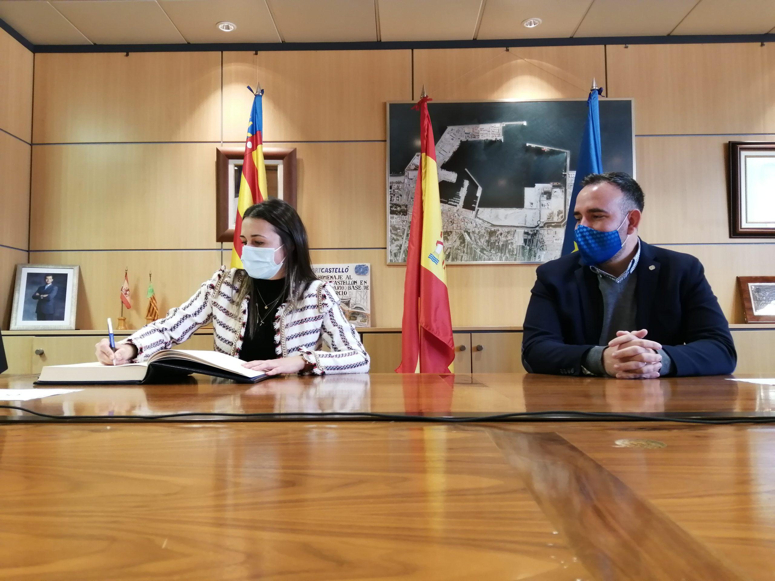 PortCastelló y la Vall d´Uixó  potenciarán acciones conjuntas para fortalecer el tejido empresarial
