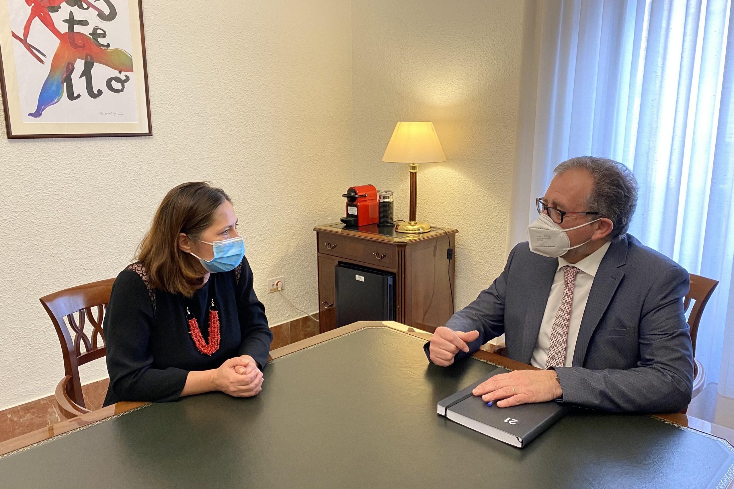 José Martí y el Consulado de Rumanía entablan contactos para atraer inversiones a la provincia de Castellón
