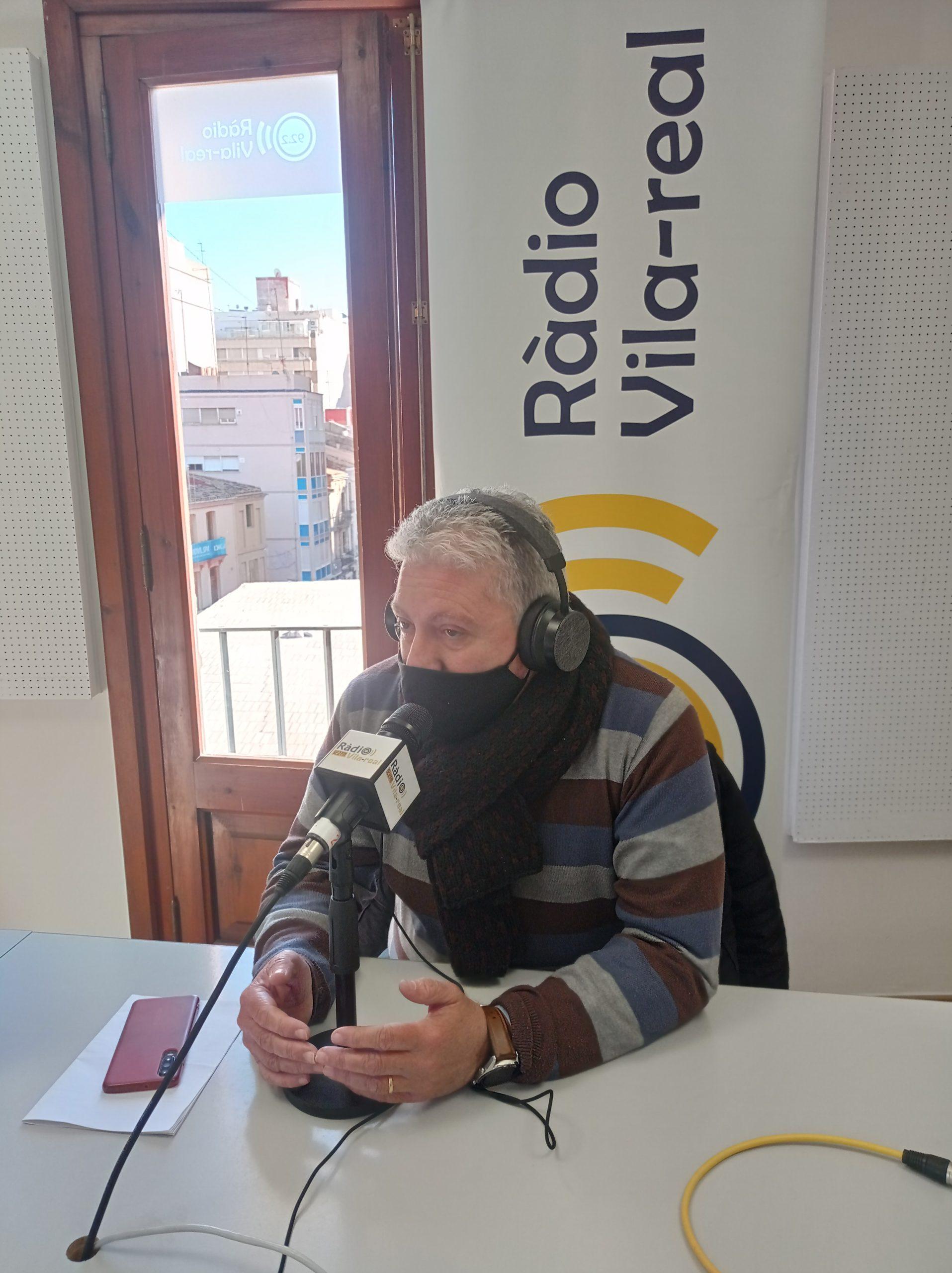 Entrevista al portavoz del gobierno del ayuntamiento de Vila-real, Javier Serralvo
