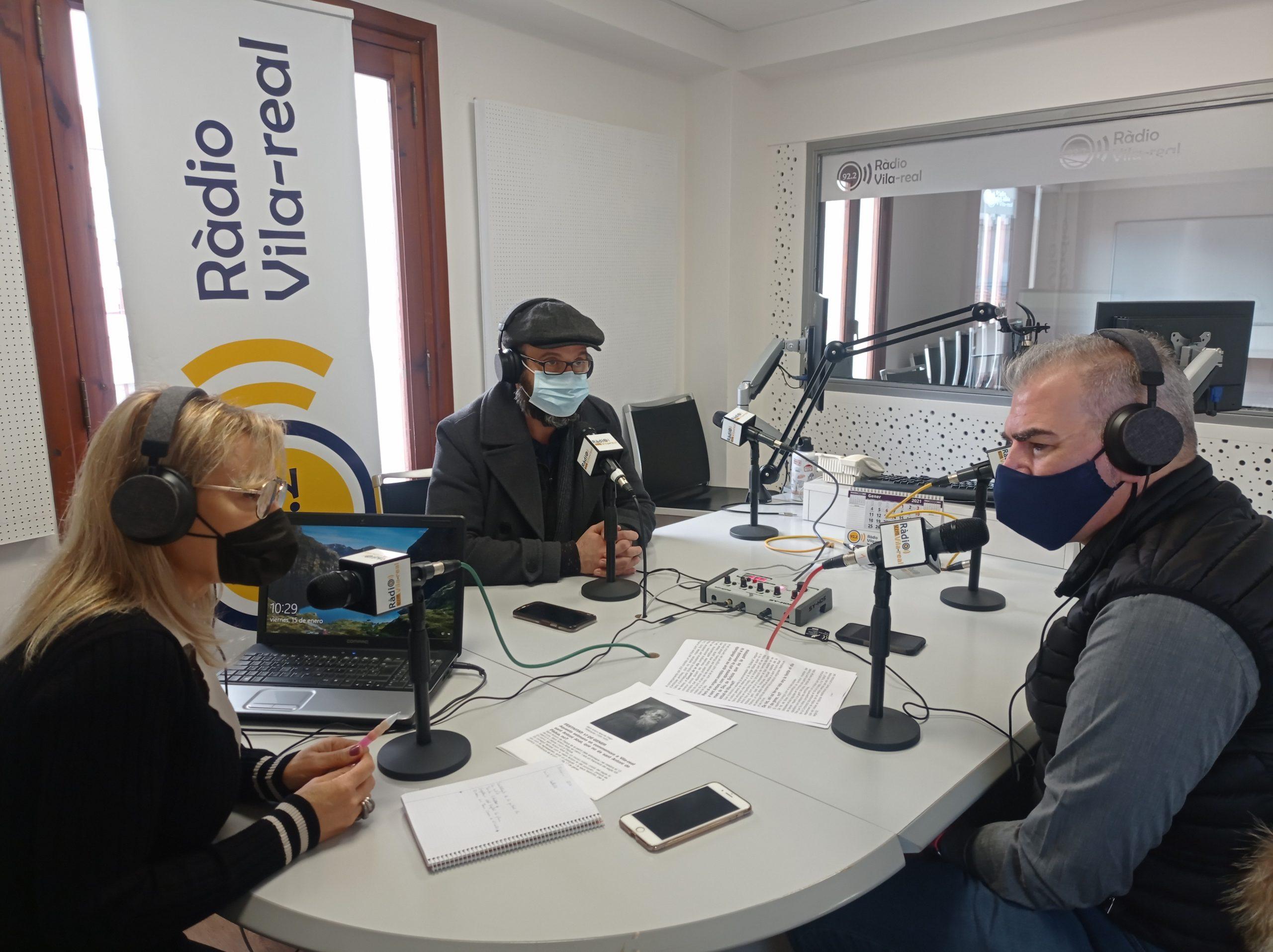 Entrevista al párroco del Hospital La Plana de Vila-real, Cento Esteller