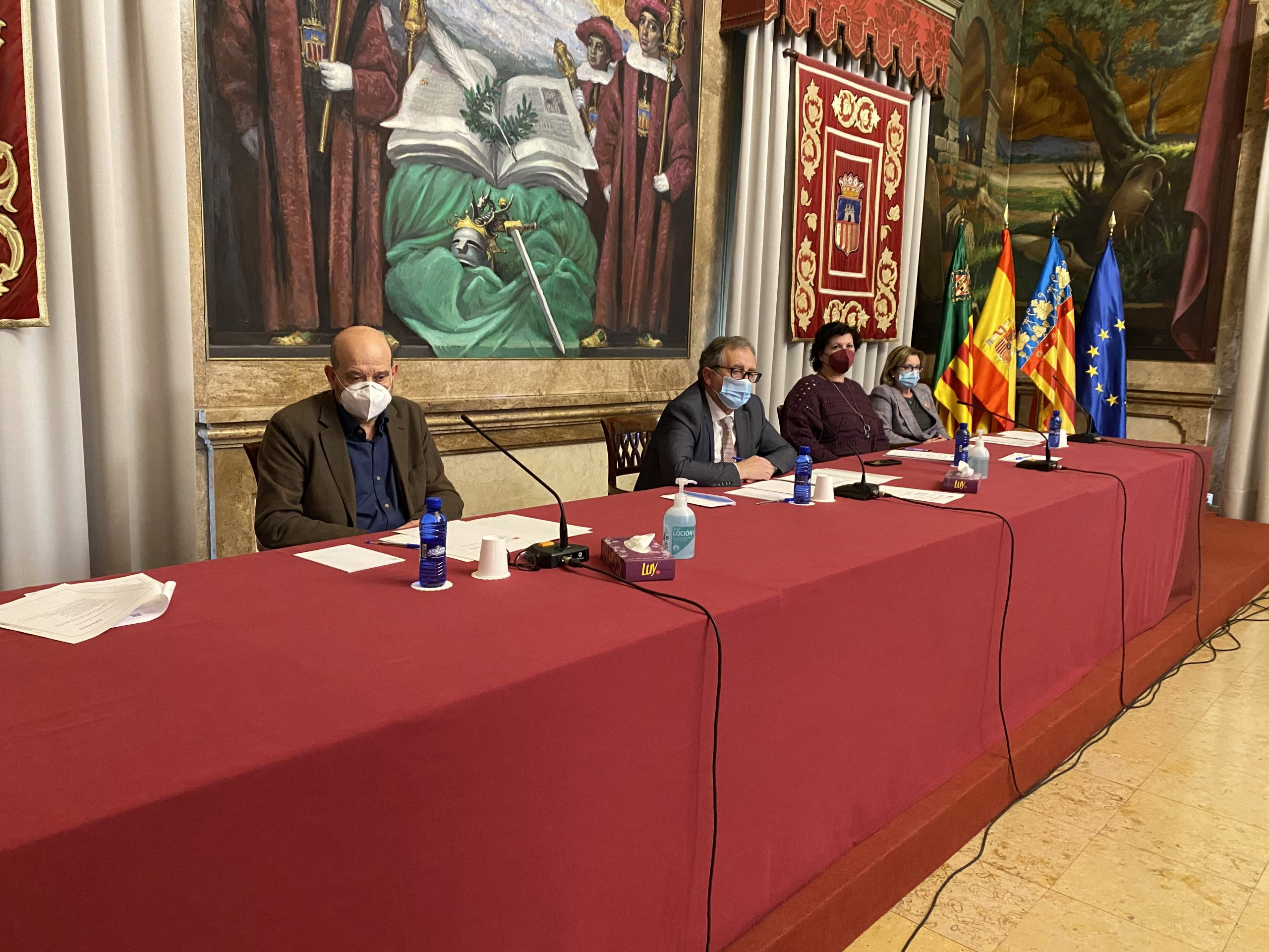 """PSPV, Compromís y Ciudadanos renuncian a cobrar por un pleno """"oportunista y sin contenido"""" forzado por el PP"""