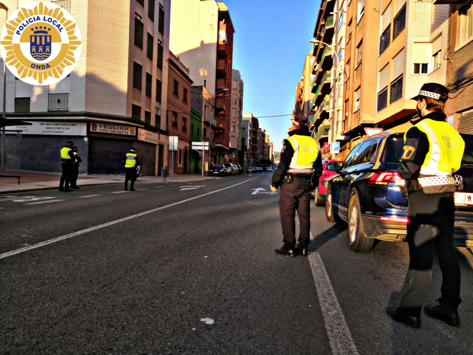 La Policía Local de Onda identifica a vecinos que se saltan la cuarentena y propone la sanción máxima de 30.000 euros