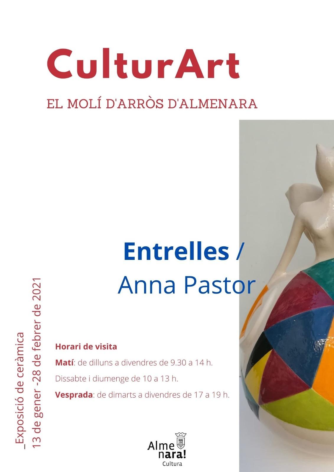 El Molí d'Arròs de Almenara acoge la muestra cerámica 'Entrelles' de Anna Pastor