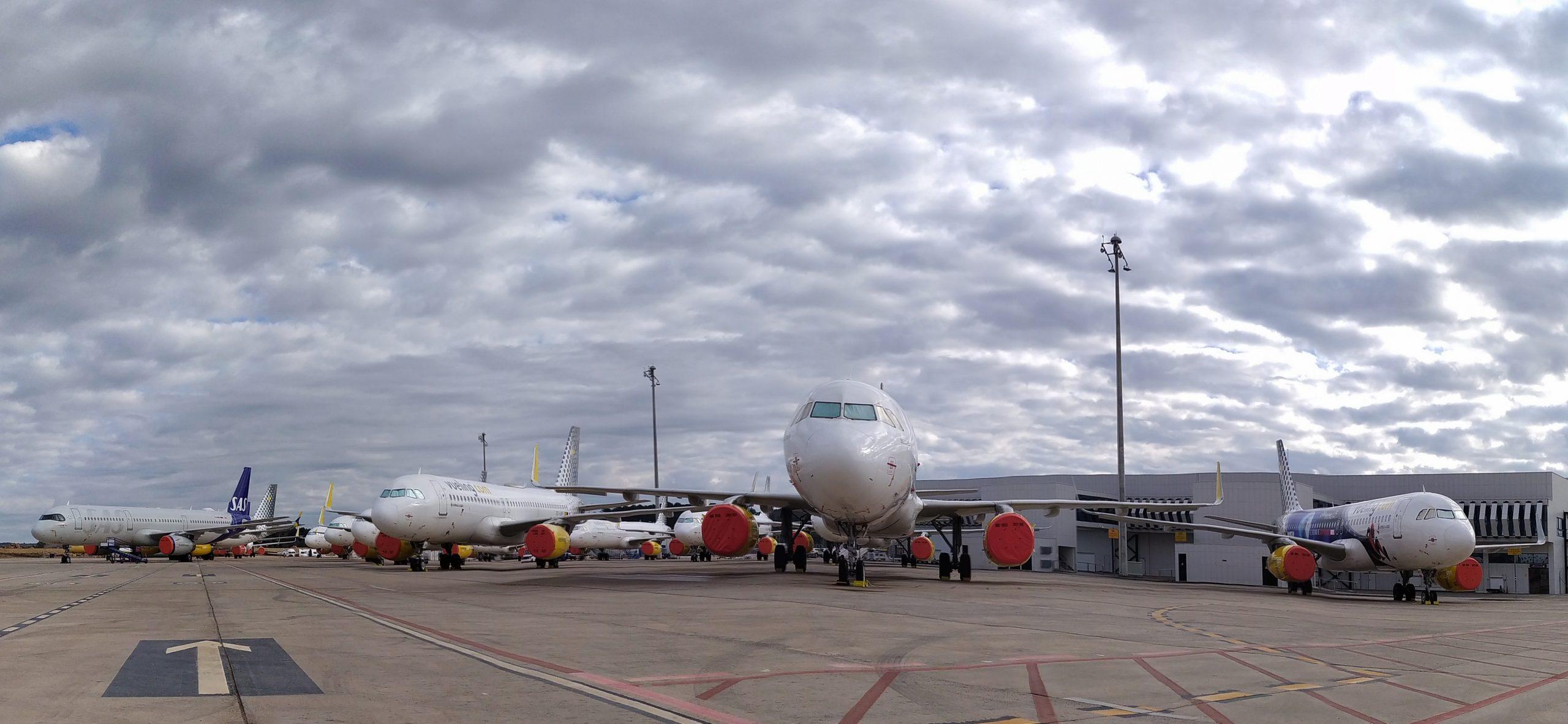 El aeropuerto de Castellón inicia las obras de construcción de la nueva plataforma industrial y de prolongación de la calle de rodaje