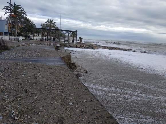 """Compromís reclama en el Senado que la costa valenciana sea calificada como """"zona catastrófica"""""""