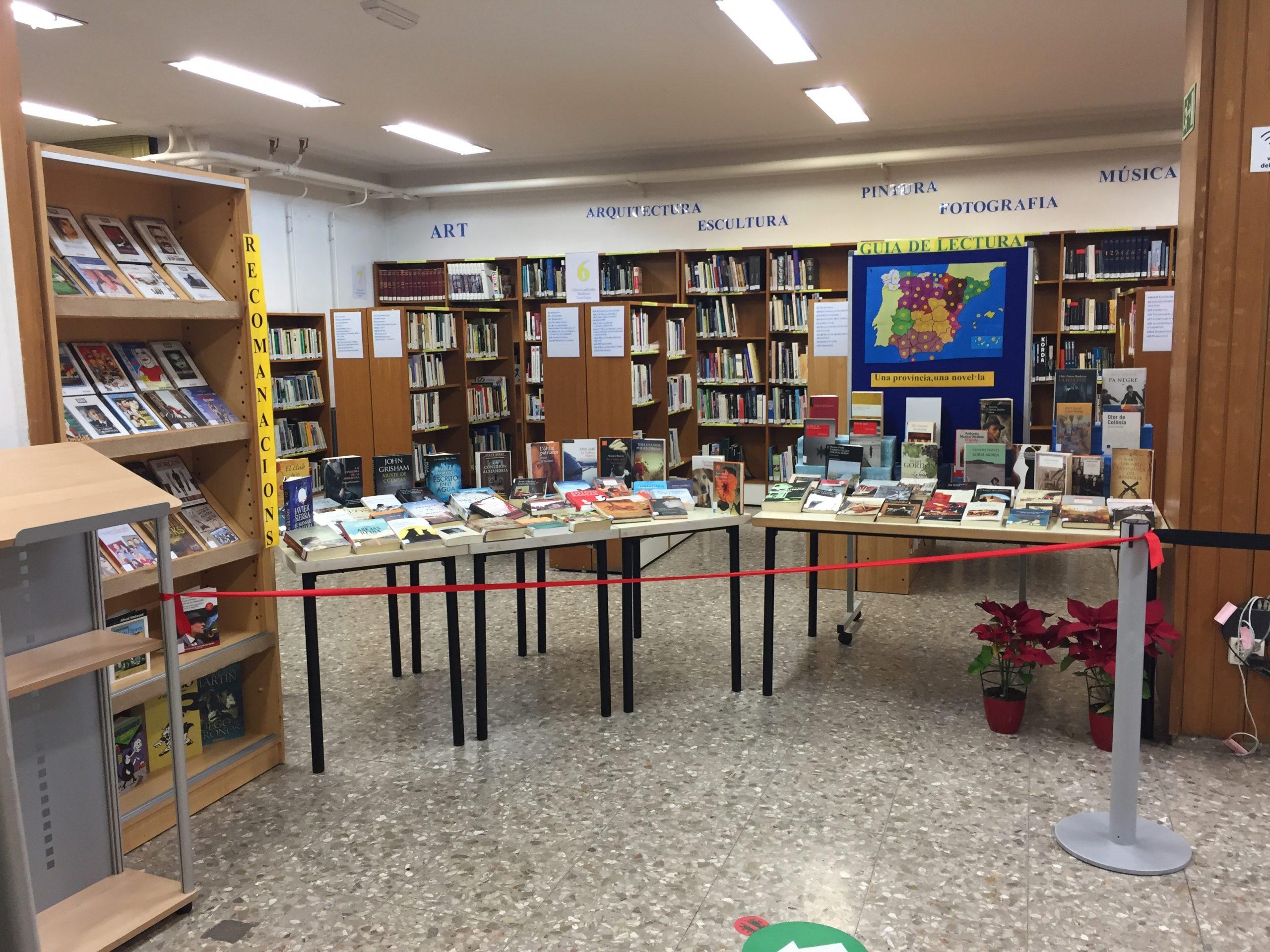 Vila-real reabre las Bibliotecas con todos los protocolos anticovid