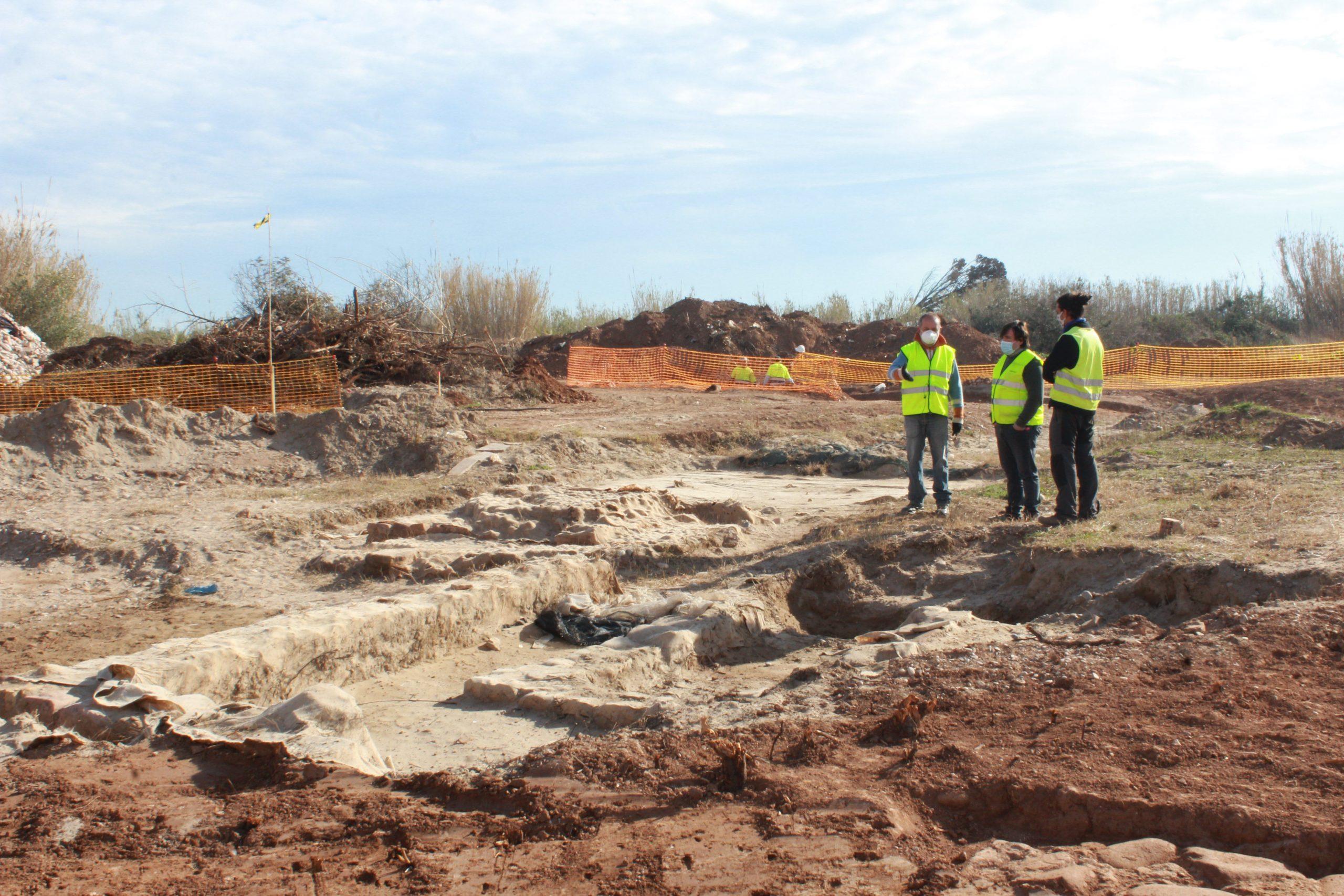 Descubren nuevas dependencias en el yacimiento arqueológico de la villa romana de Sant Gregori de Burriana